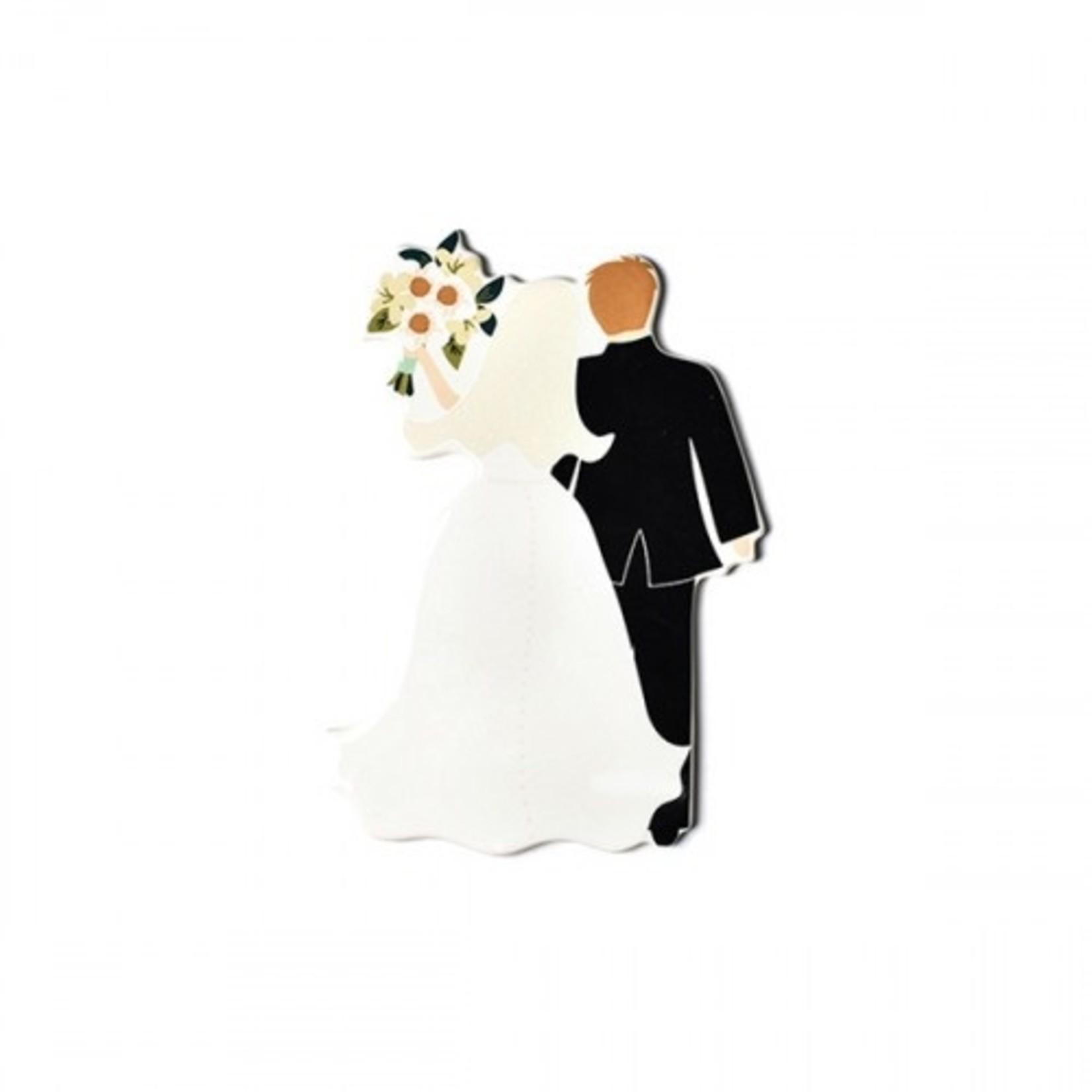Happy Everything Bride Groom Mini Attachment