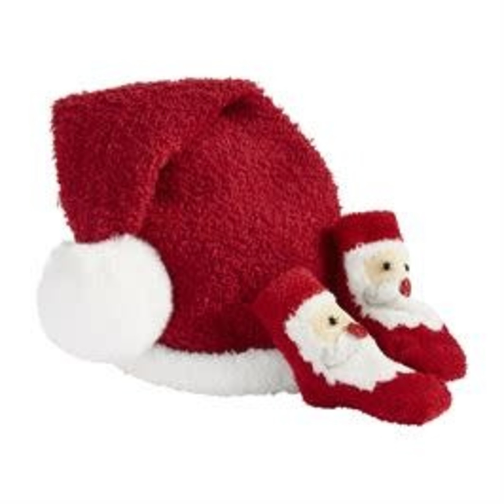 Mudpie CHRISTMAS HAT AND SOCK SET