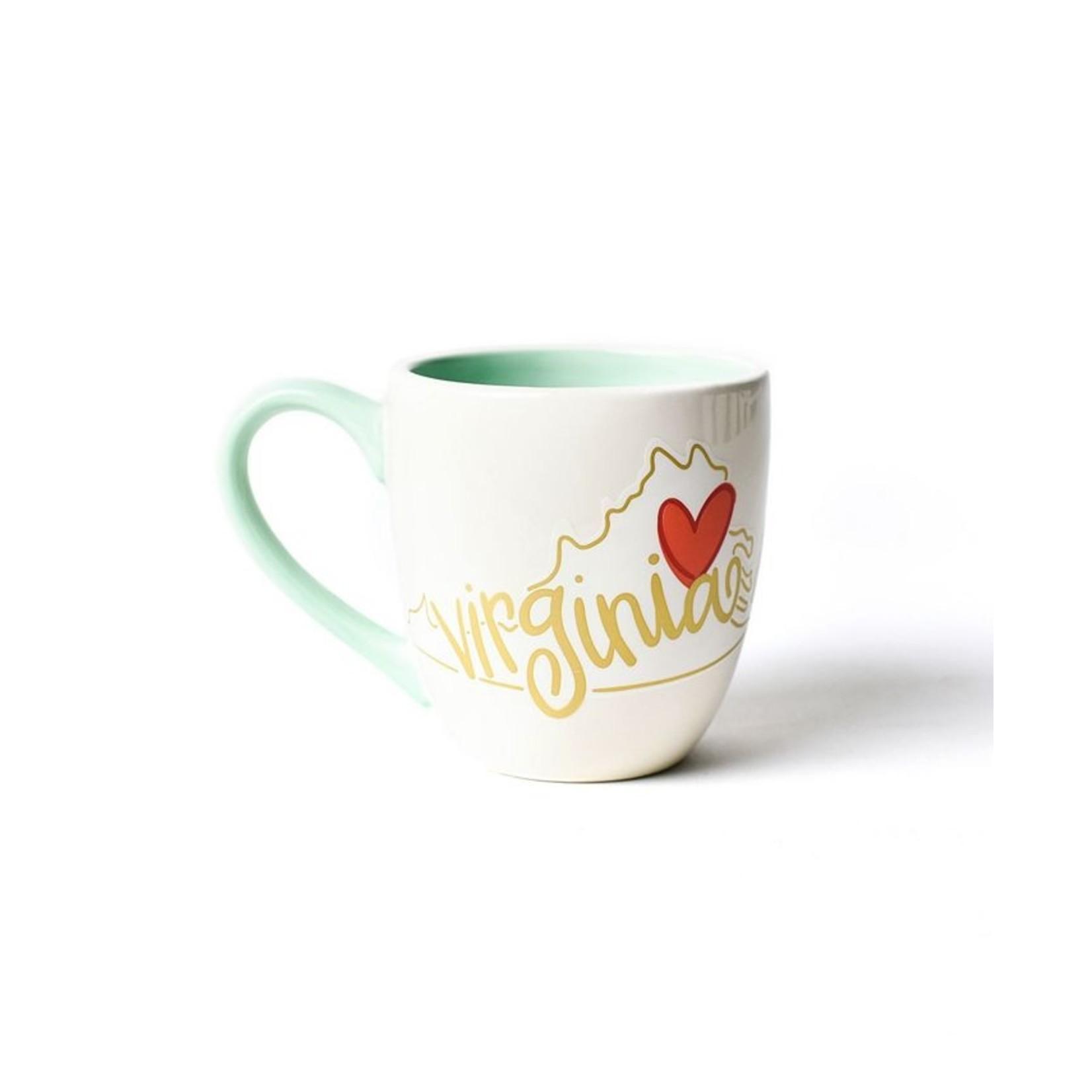 Happy Everything VIRGINIA MOTIF COFFEE MUG