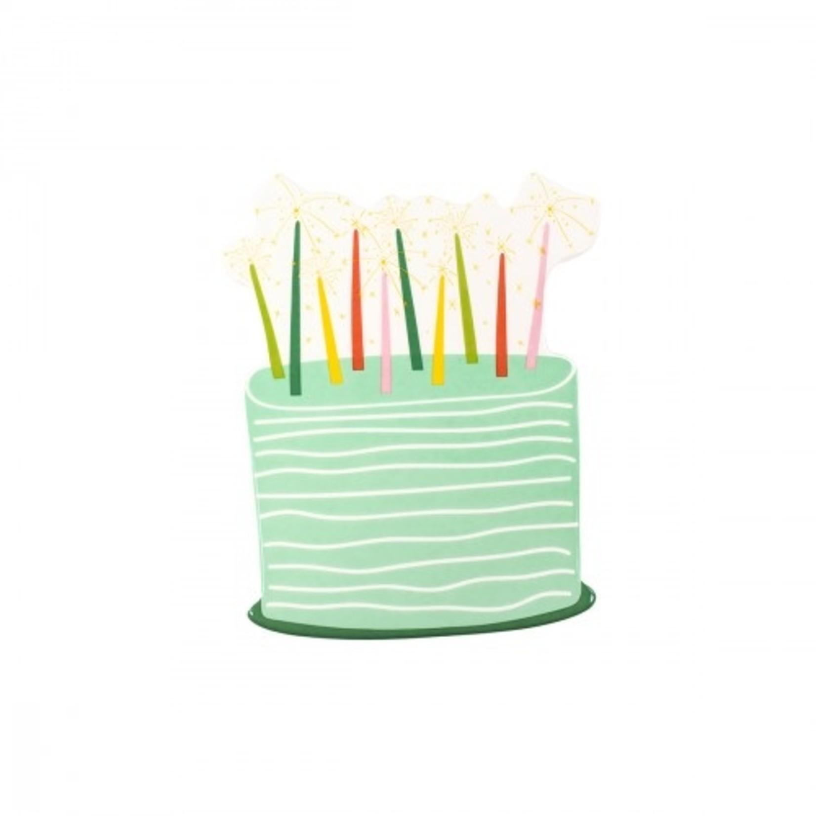 Happy Everything Sparkle Cake Mini Attachment