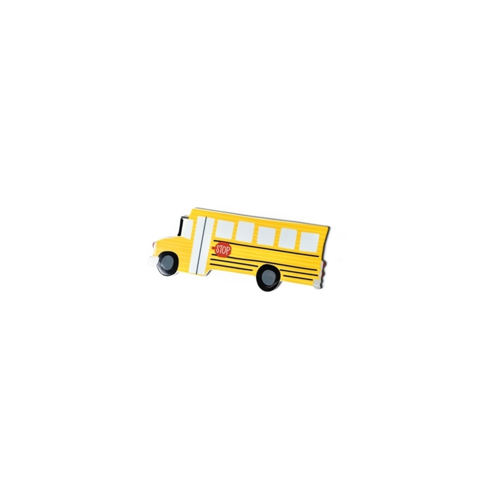 Happy Everything School Bus Mini Attachment