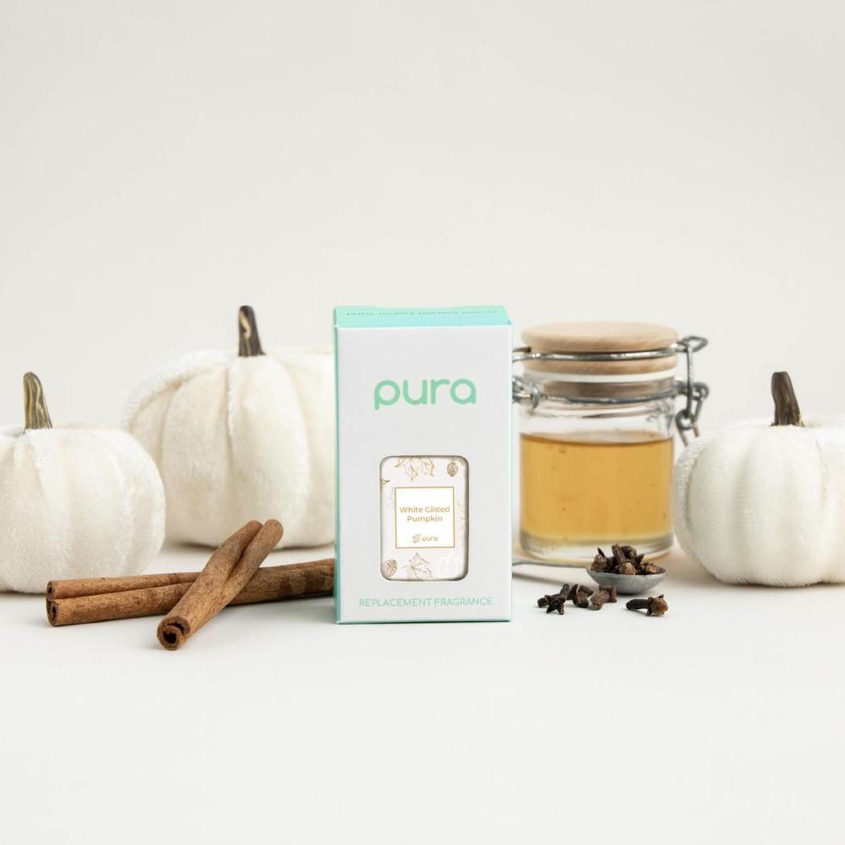 Pura White Gilded Pumpkin Pura Scent