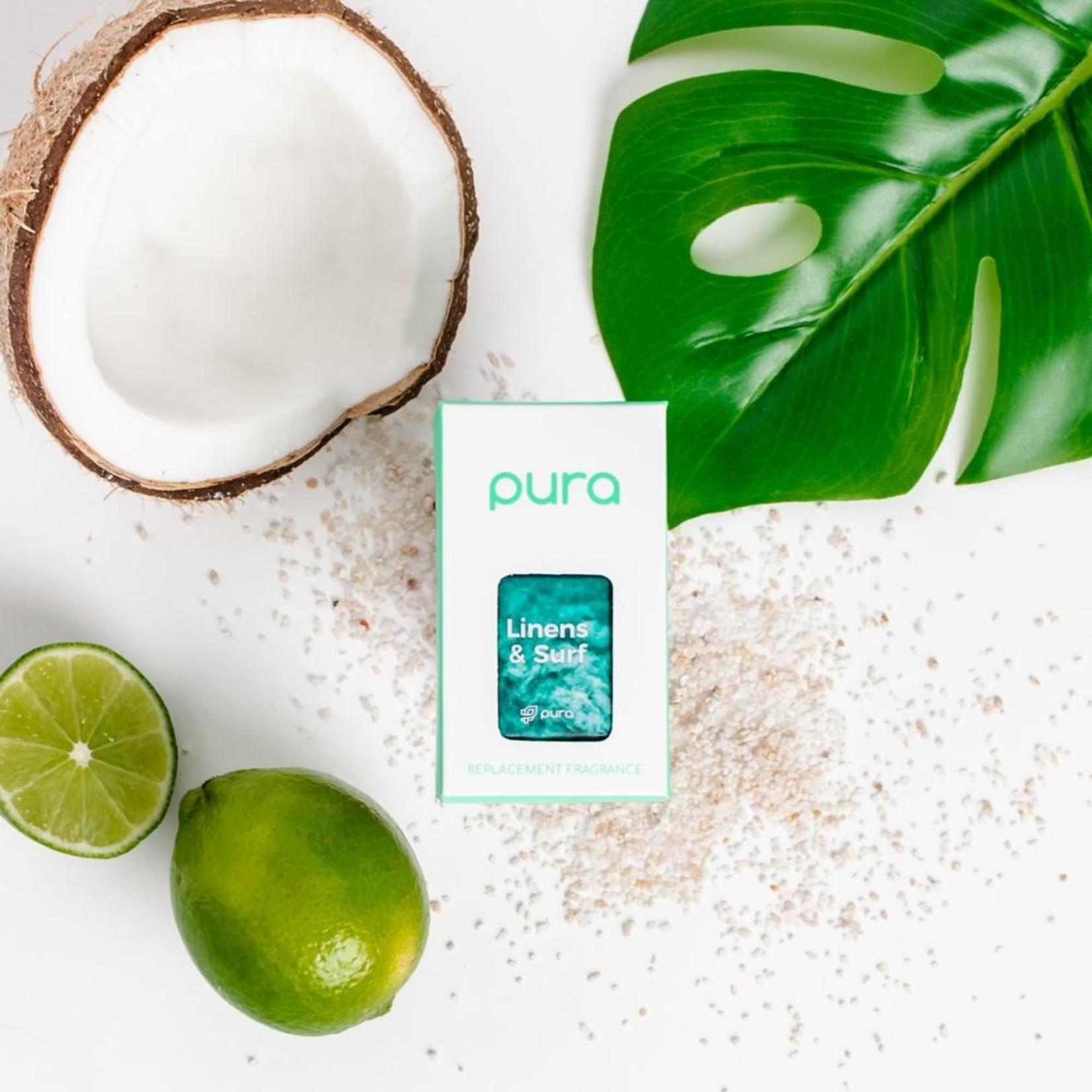 Pura Linens and Surf Pura Fragrance