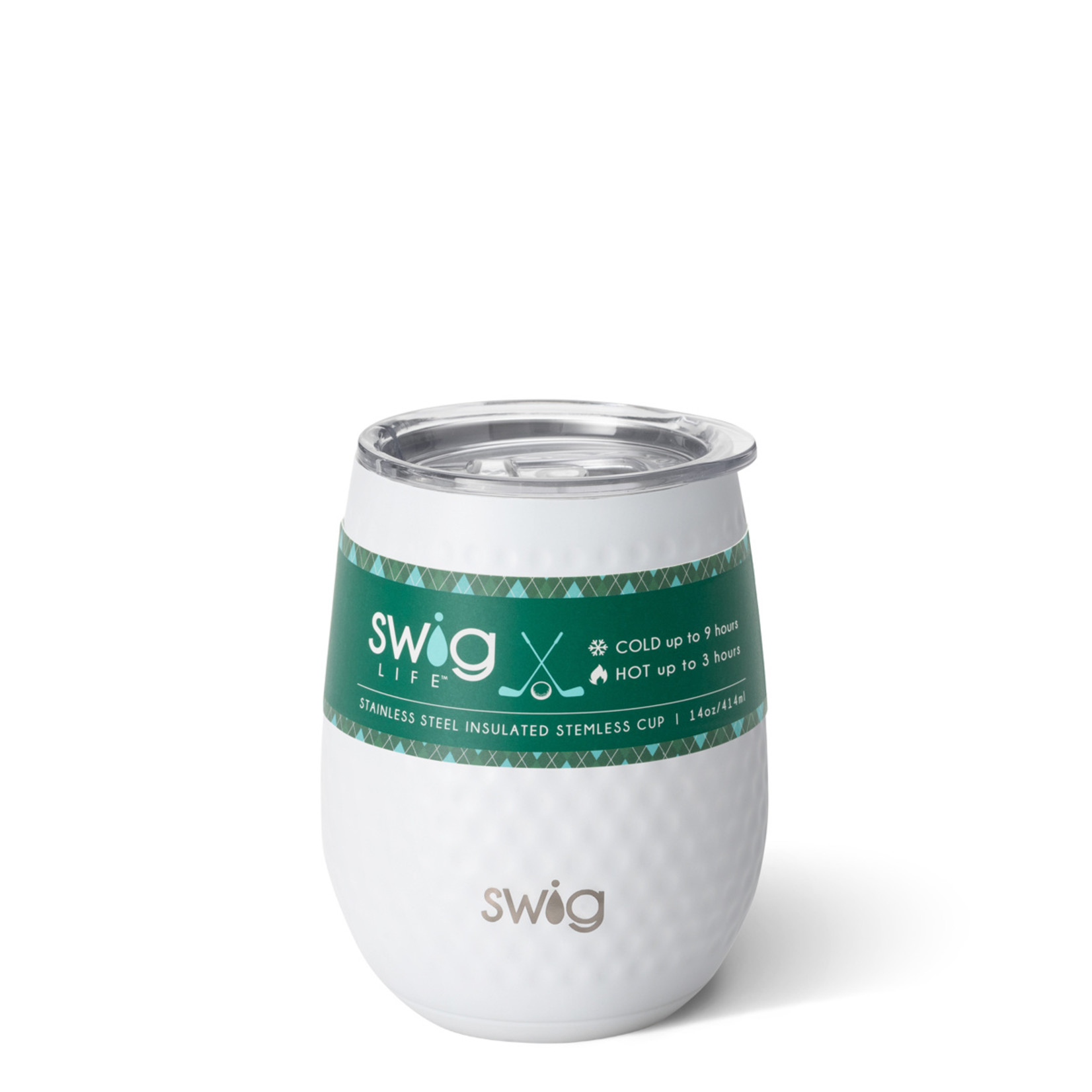 Swig GOLF PAR-TEE SWIG 140Z STEMLESS WINE CUP