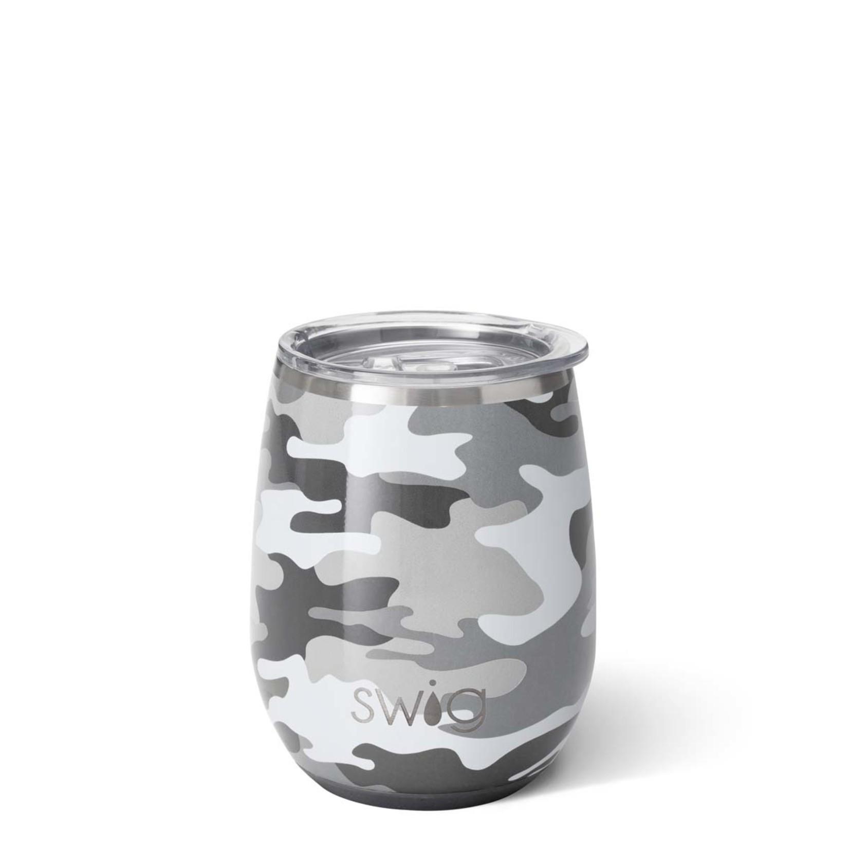 Swig INCOGNITO CAMO SWIG 140Z STEMLESS WINE CUP