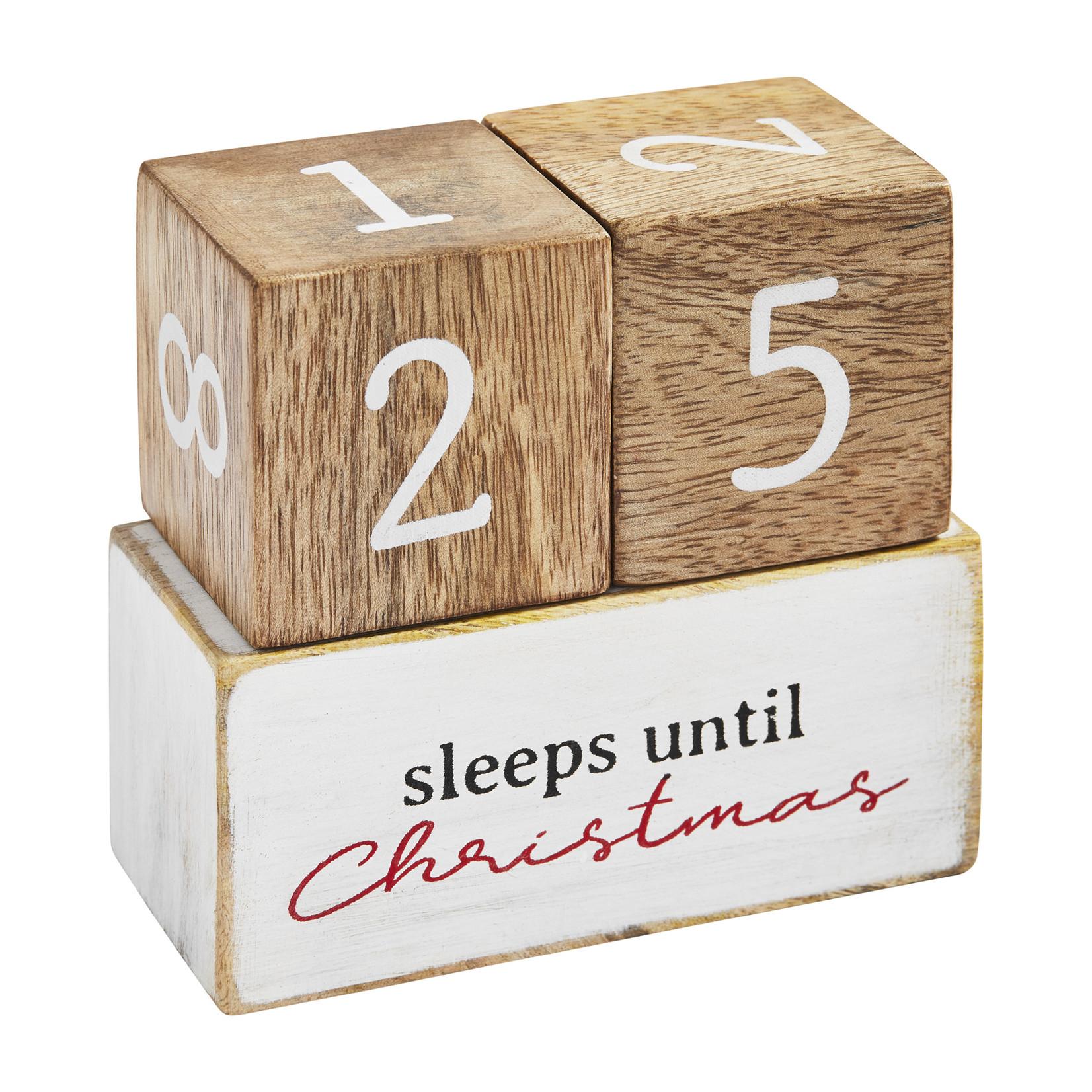 Mudpie Multi-Holiday Countdown Block Set