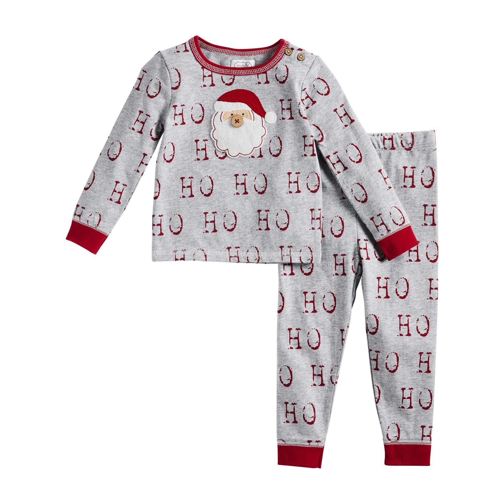 Mudpie Ho Ho Ho Unisex Pajamas