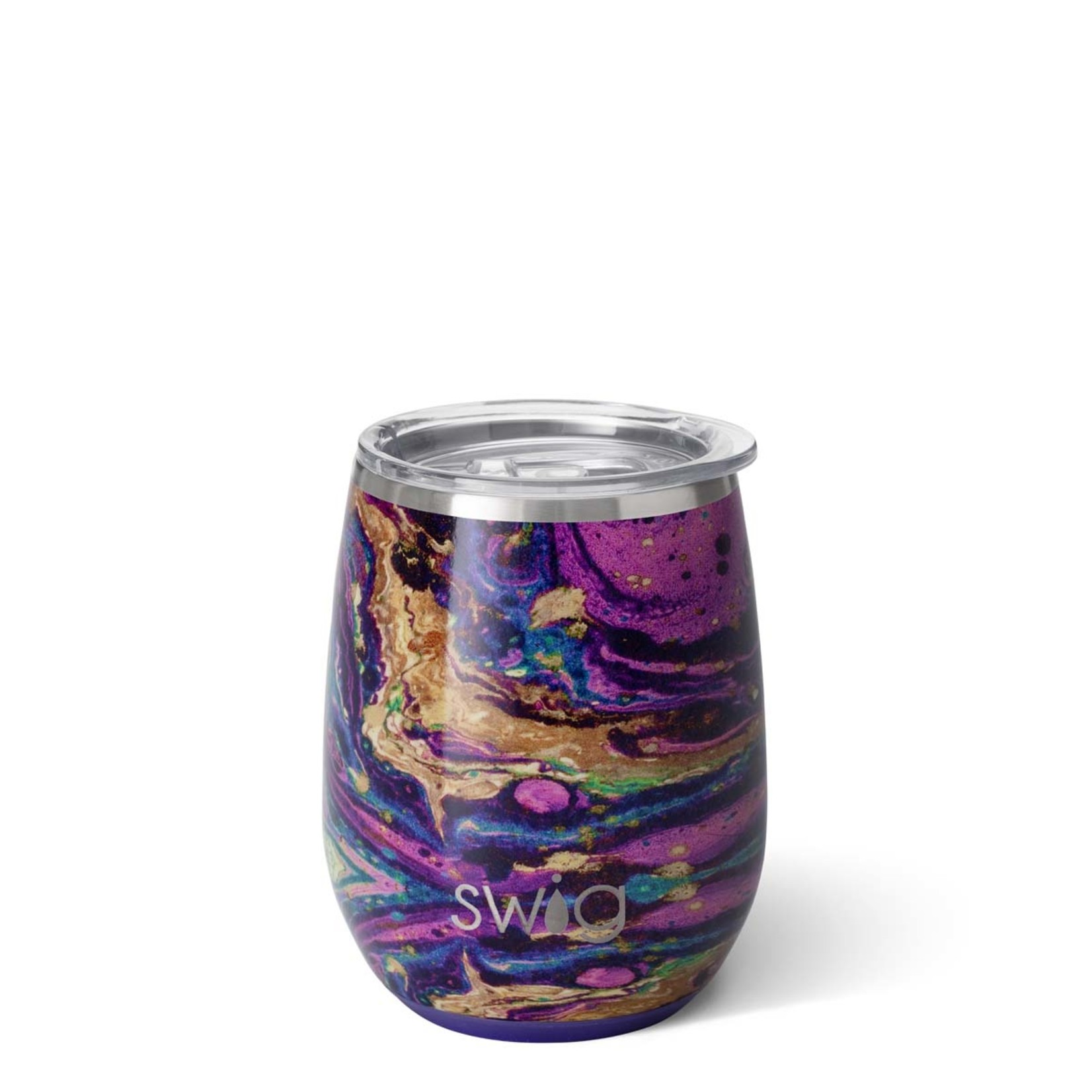 Swig PURPLE RAIN SWIG 140Z STEMLESS WINE CUP