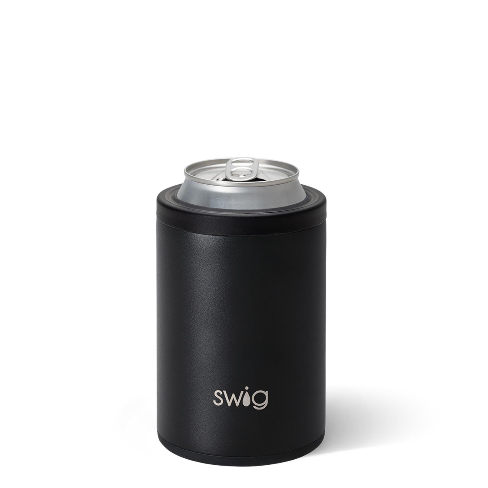 Swig MATTE BLACK SWIG 12OZ COMBO COOLER