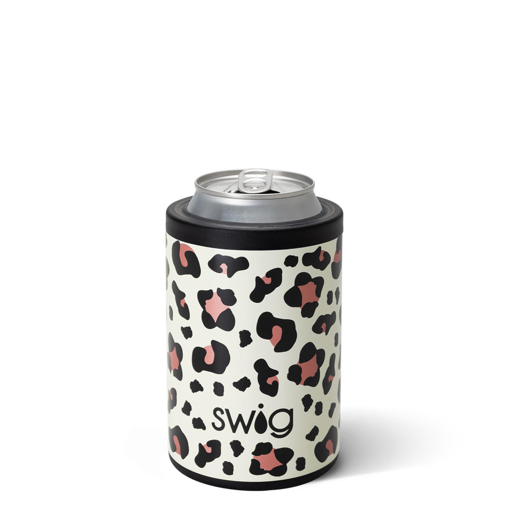 Swig LUXY LEOPARD SWIG 12OZ COMBO COOLER