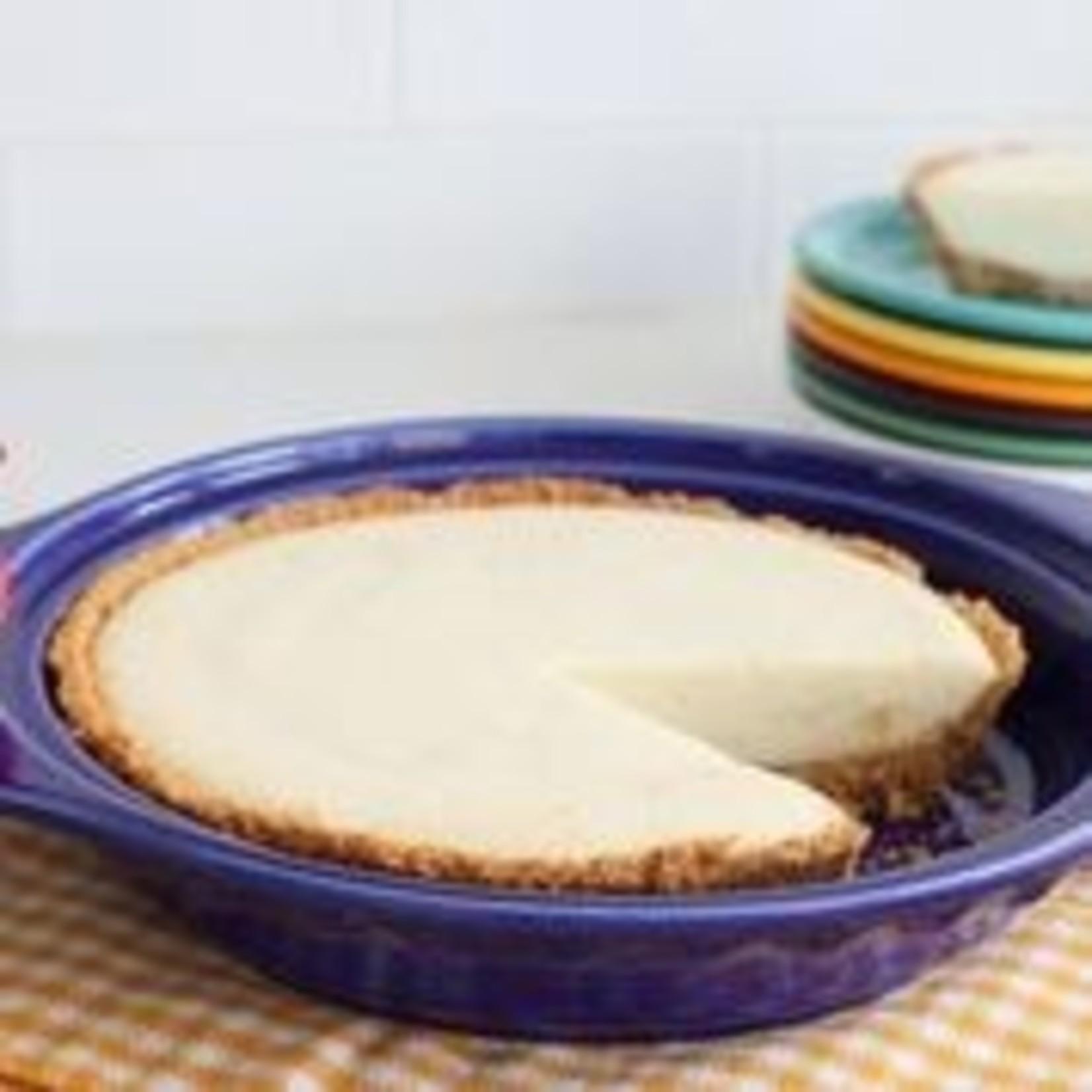 Nora Fleming Serveware Nora Fleming Deep Dish Fiestaware Pie Plate with Handles and Scarlett  Pitcher Mini