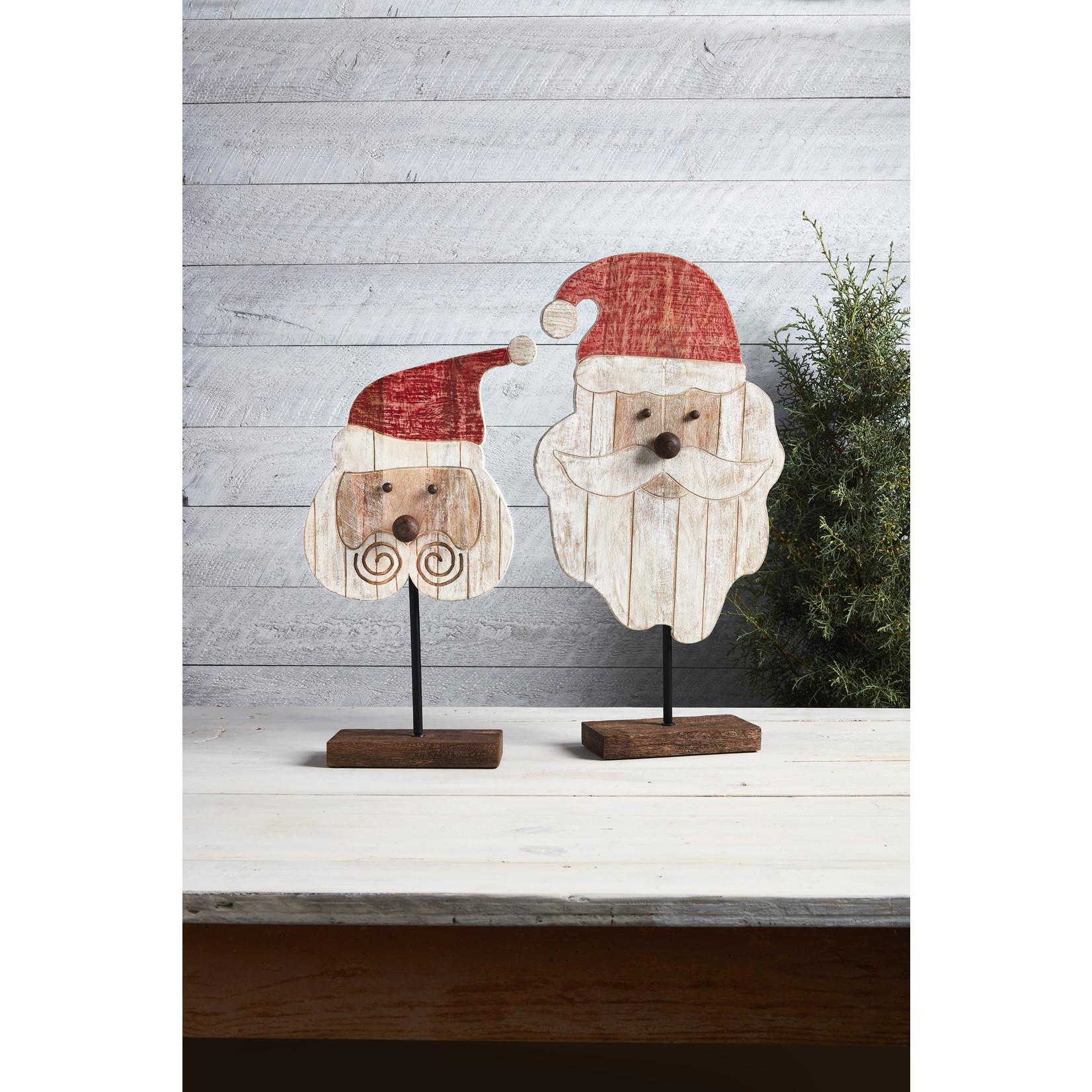Mudpie Santa Table Sitter