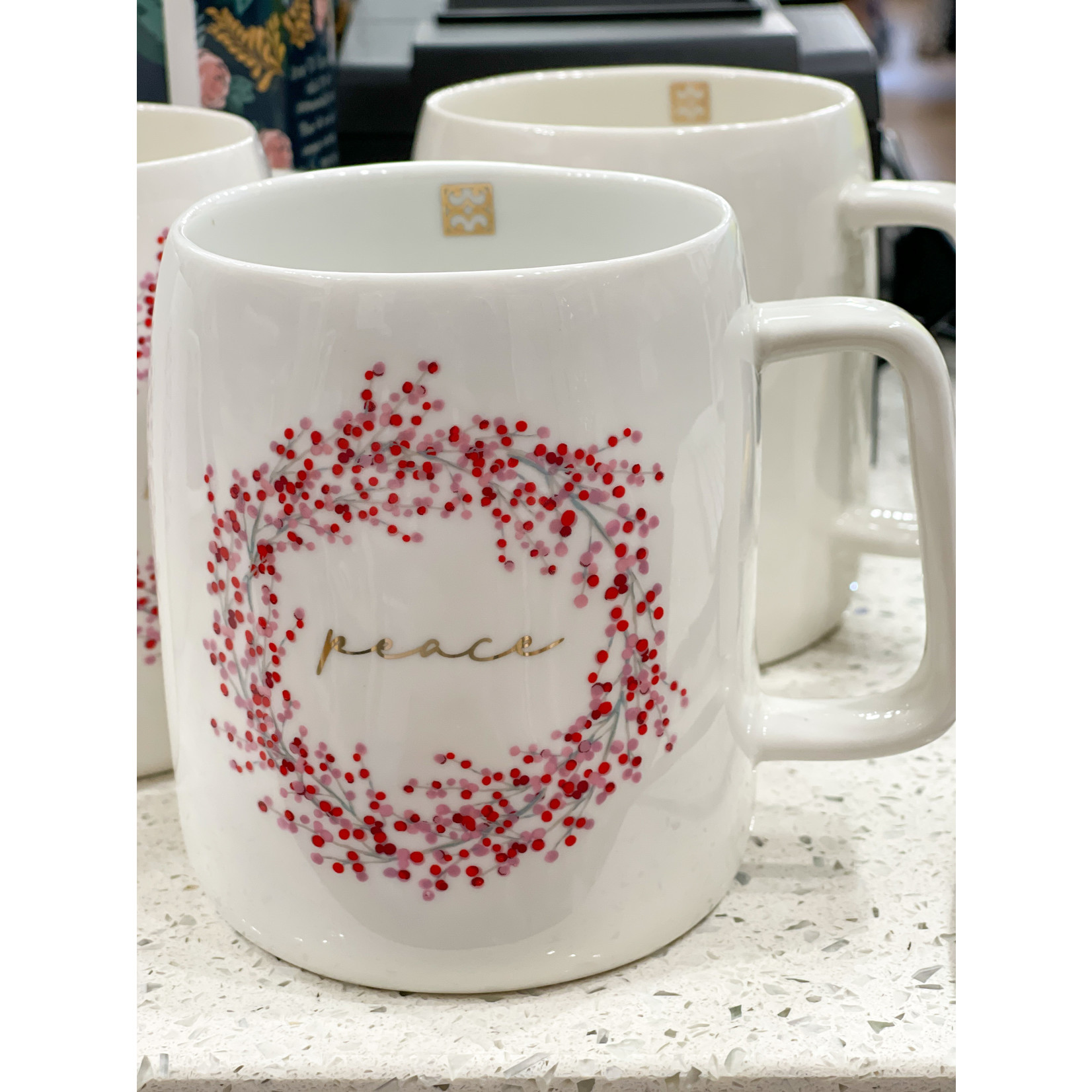 Mary Square Peace Mug