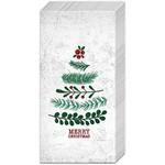 Boston International Natural Christmas Tree Guest Towels
