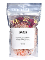 Buck Naked Moroccan Rose Salt Soak