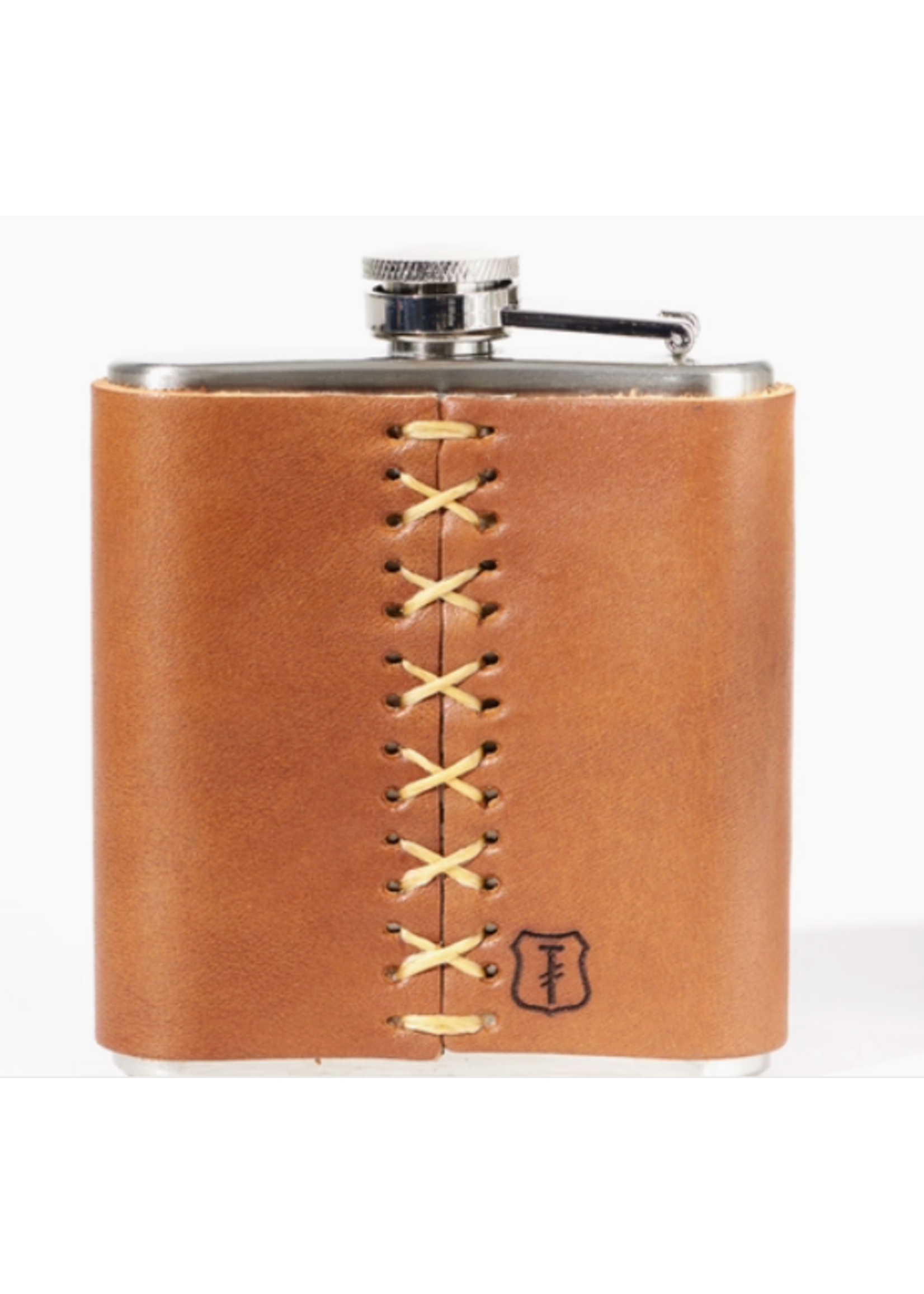 Leather Wrapped Brooklyn Flask