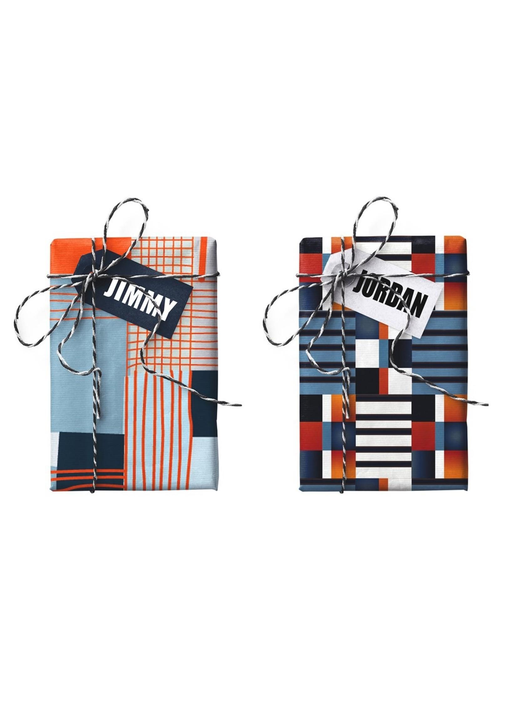 Jimmy Jordan Double-sided Gift Wrap