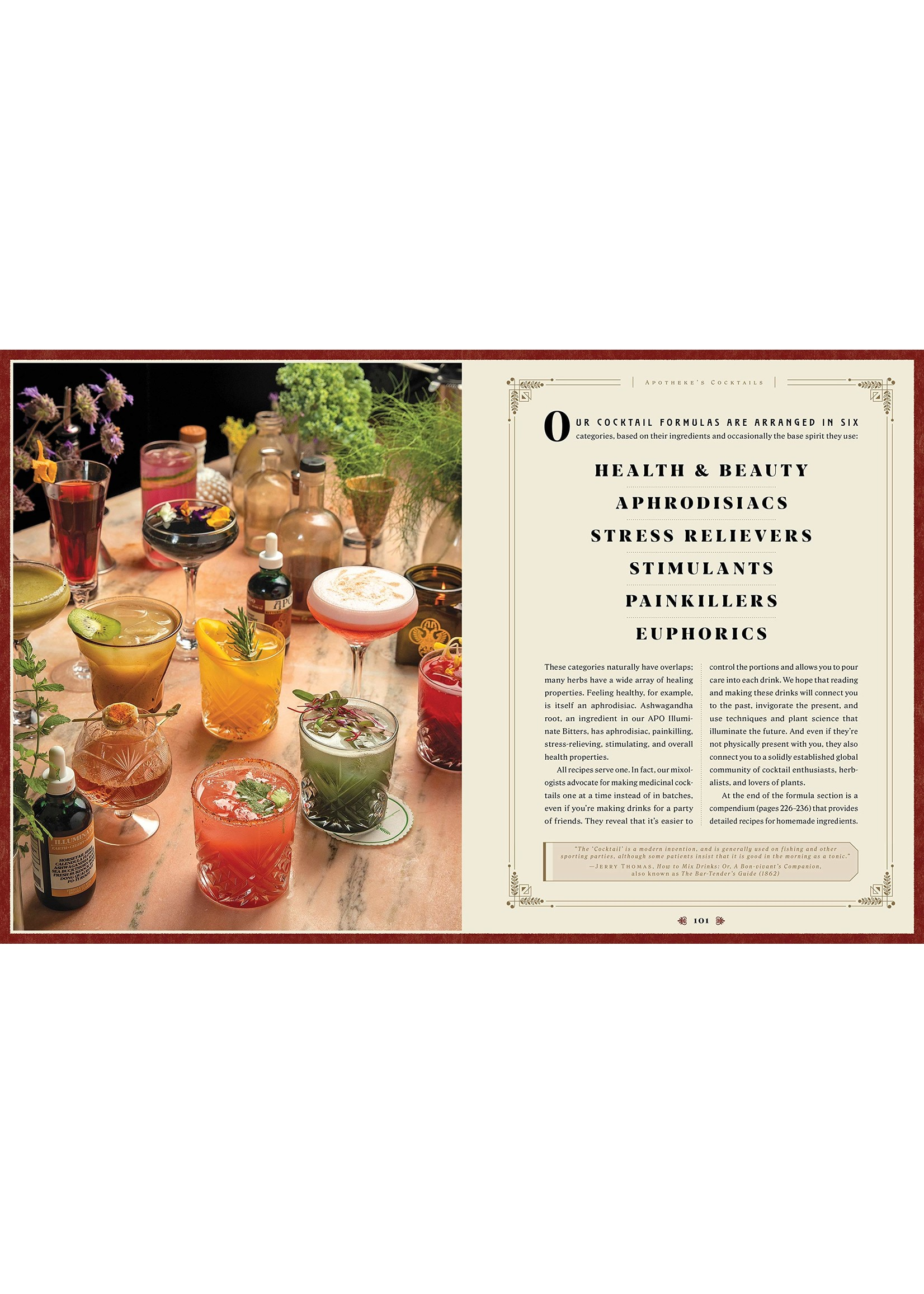 Apotheke: Modern Medicinal Cocktails