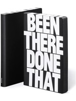 Graphic L Been There Leather Notebook