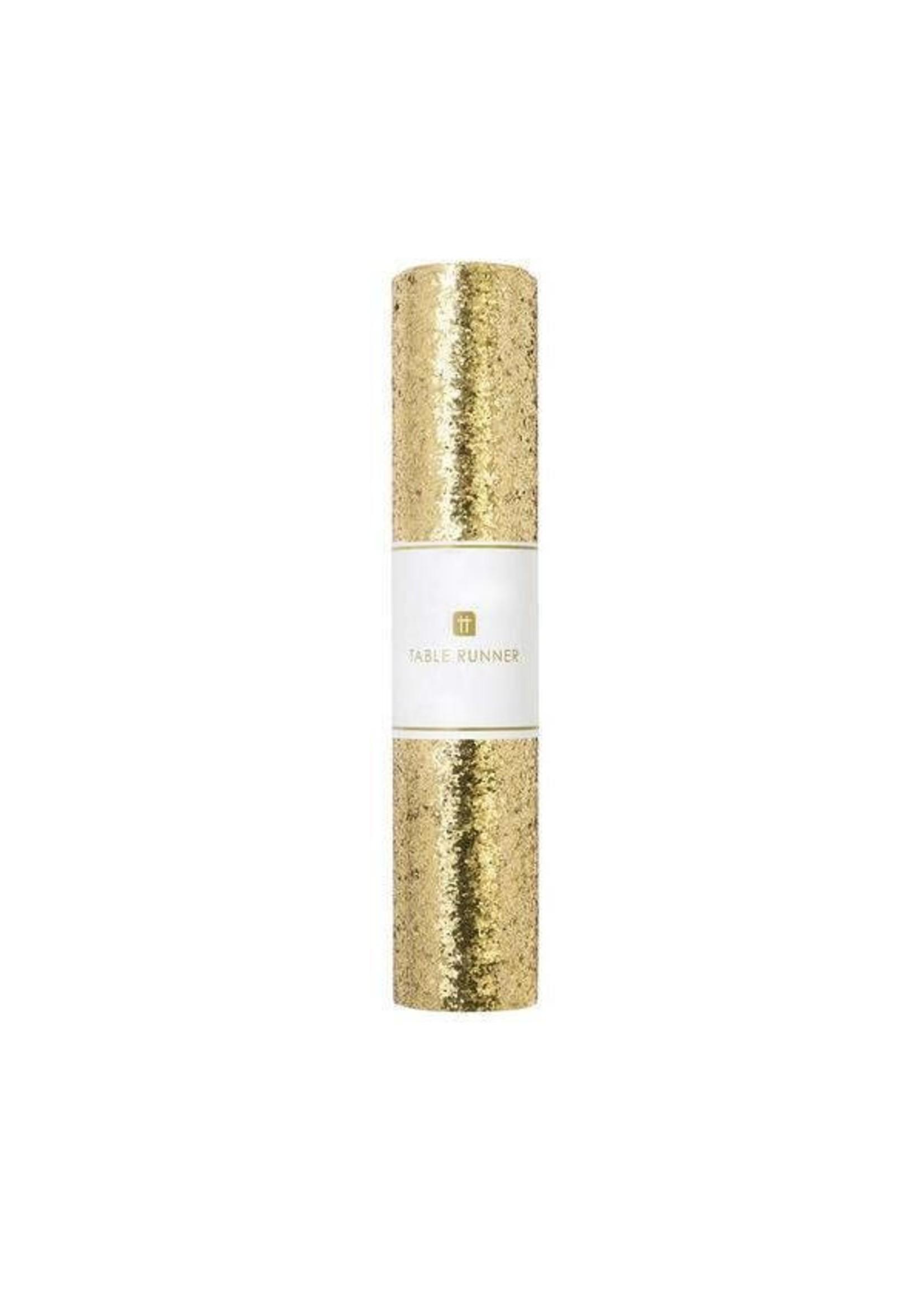 Luxe Gold Glitter Runner