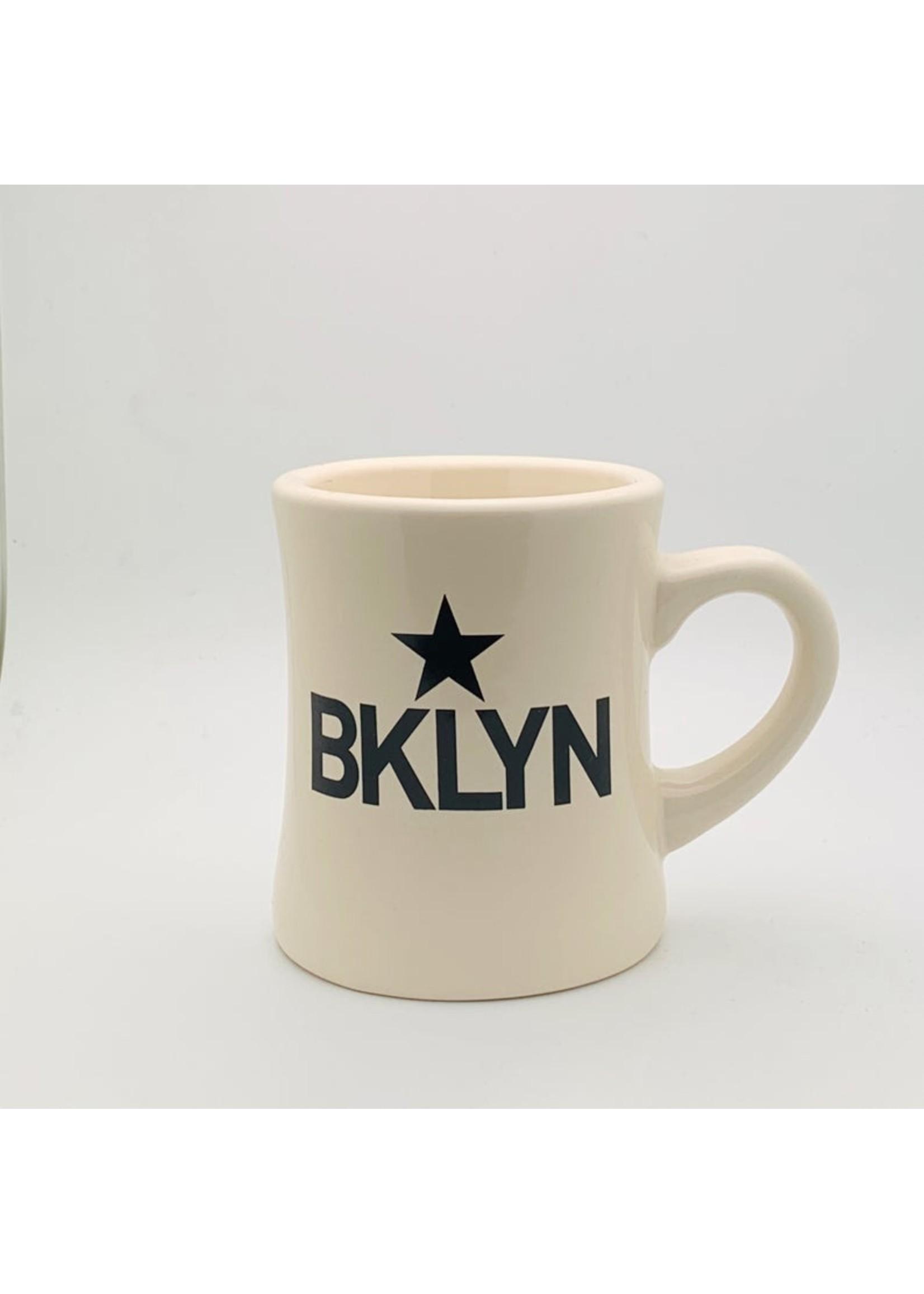 BKLYN Star Mug Natural