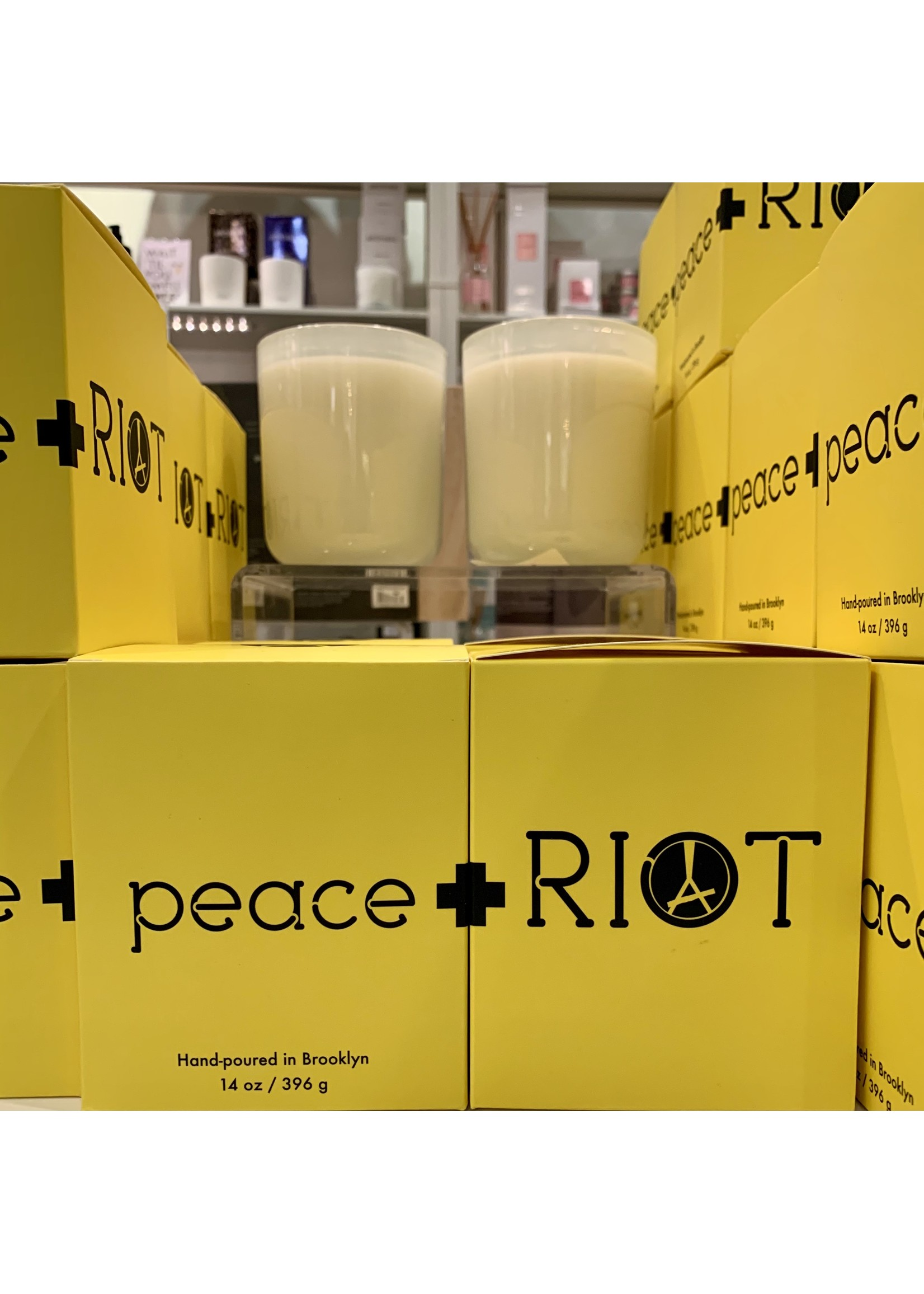 peace + RIOT Candles