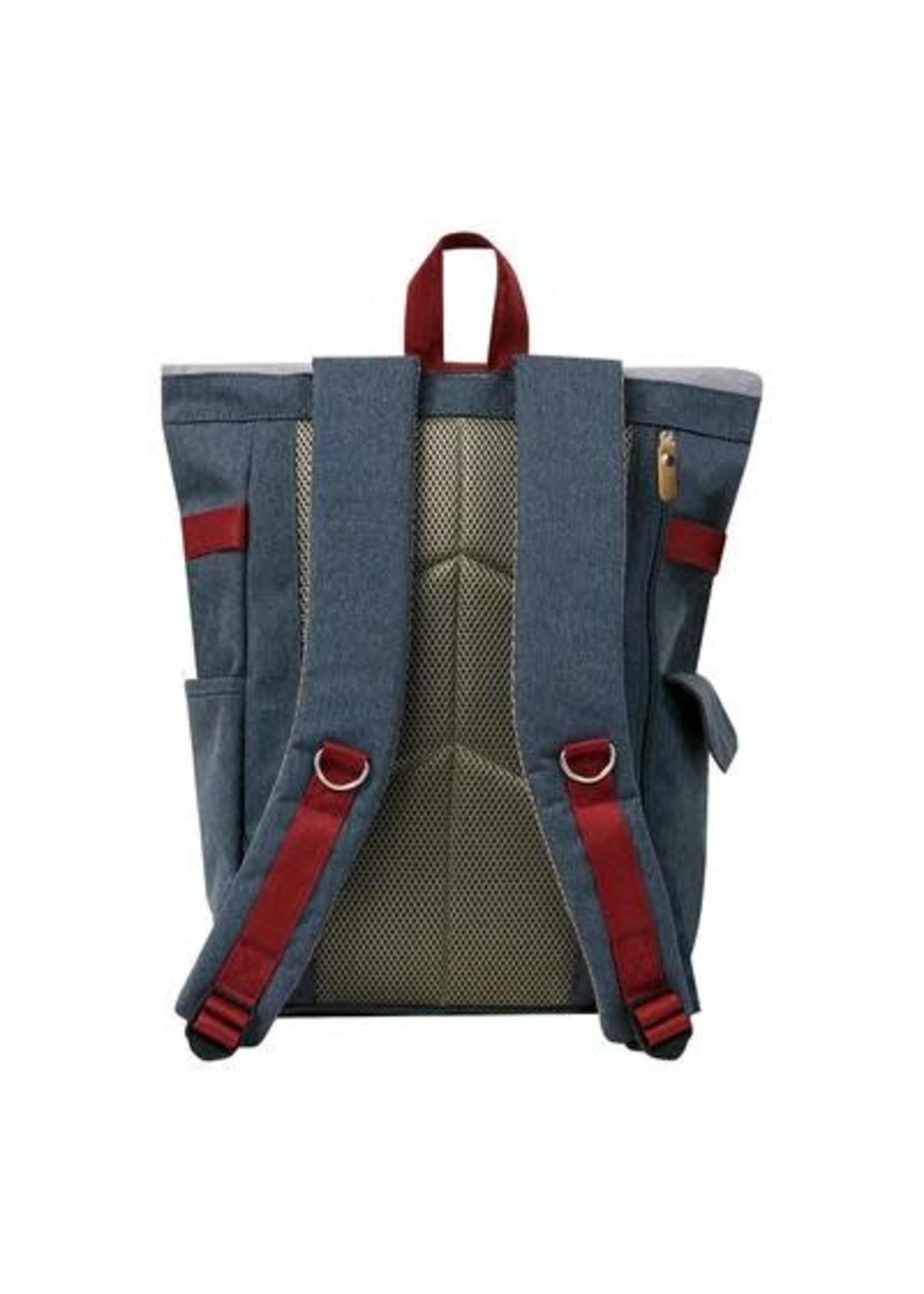 Harvest Label Rolltop Backpack Plus - Gray