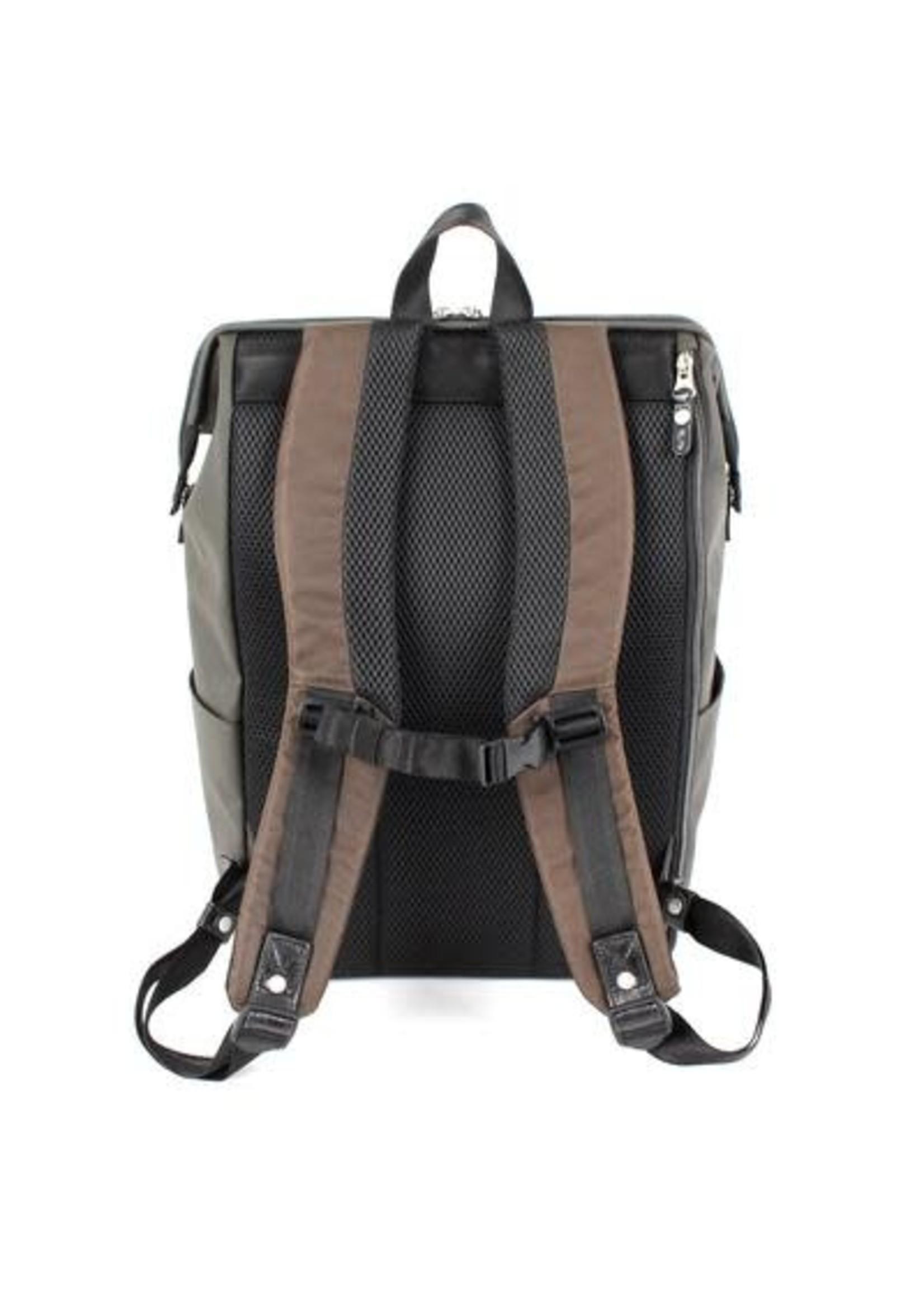 Gaba City Backpack - Olive