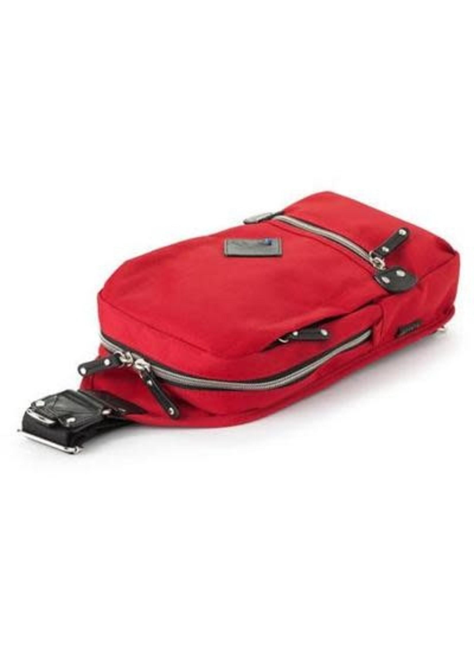 Harvest Label Red Cordura Sling Pack