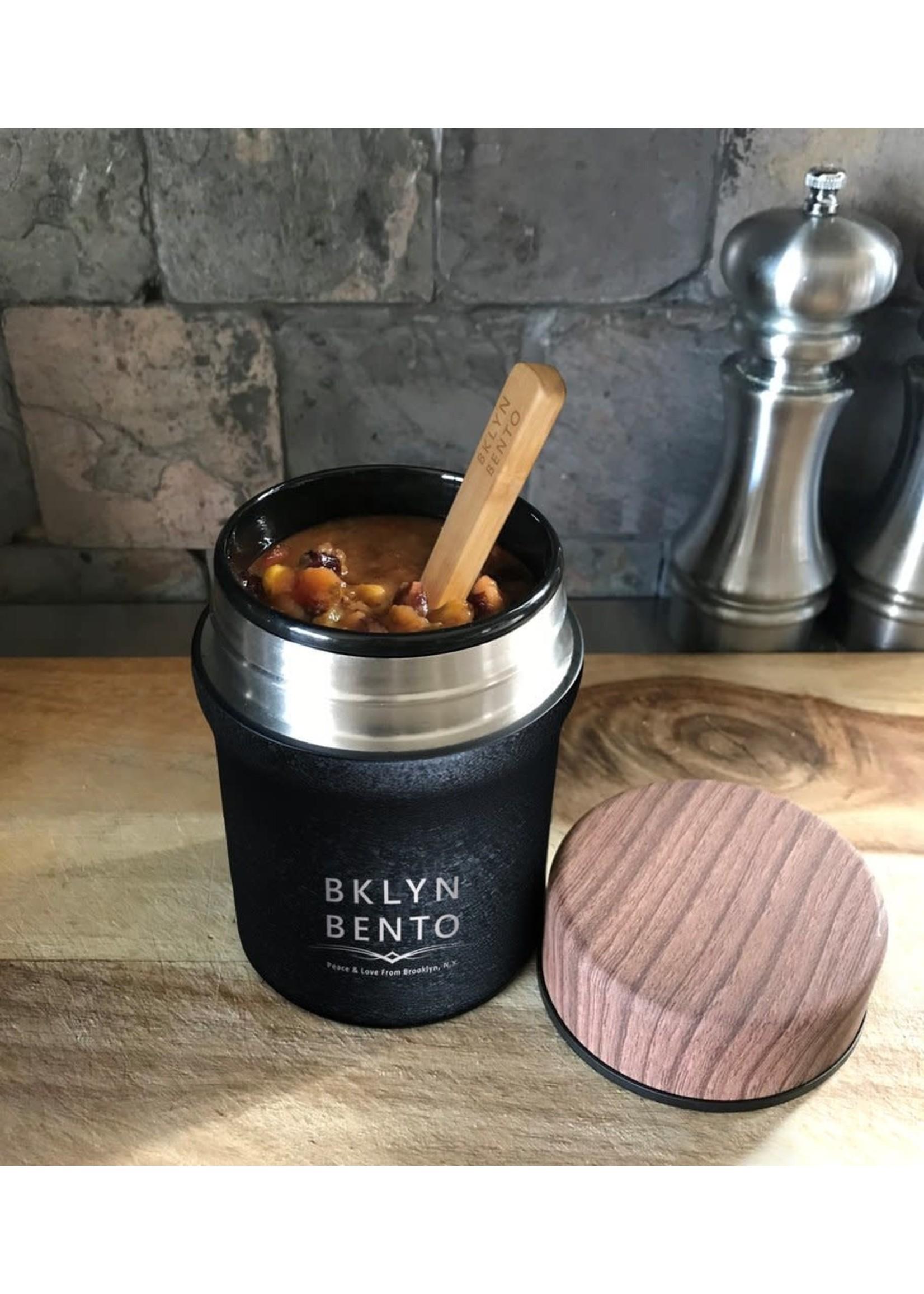 Brooklyn Bento Medium Insulated 14oz Food Jar Crushed Coal