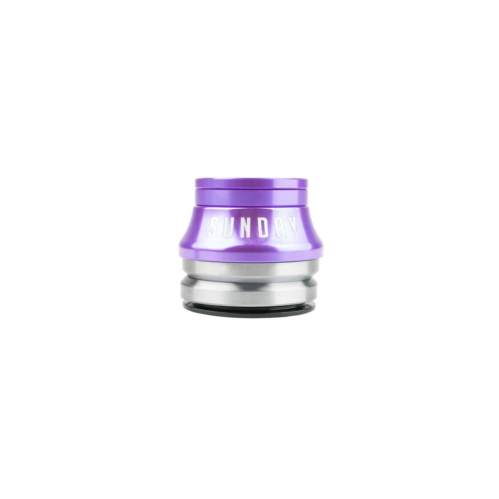 SUNDAY Sunday Integrated Conical Headset Purple