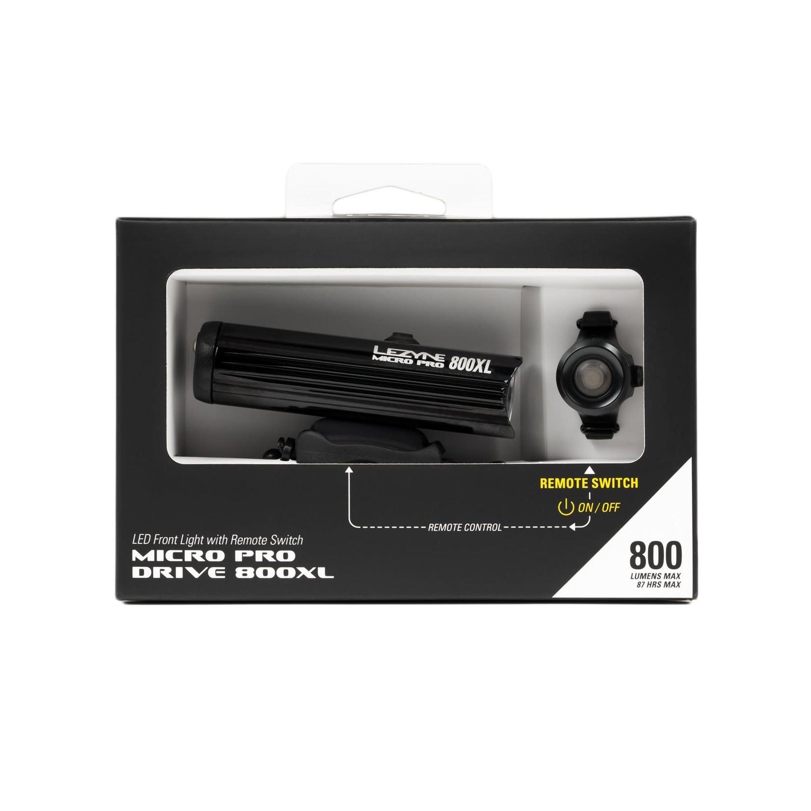 Micro Drive Pro 800XL Remote Loaded