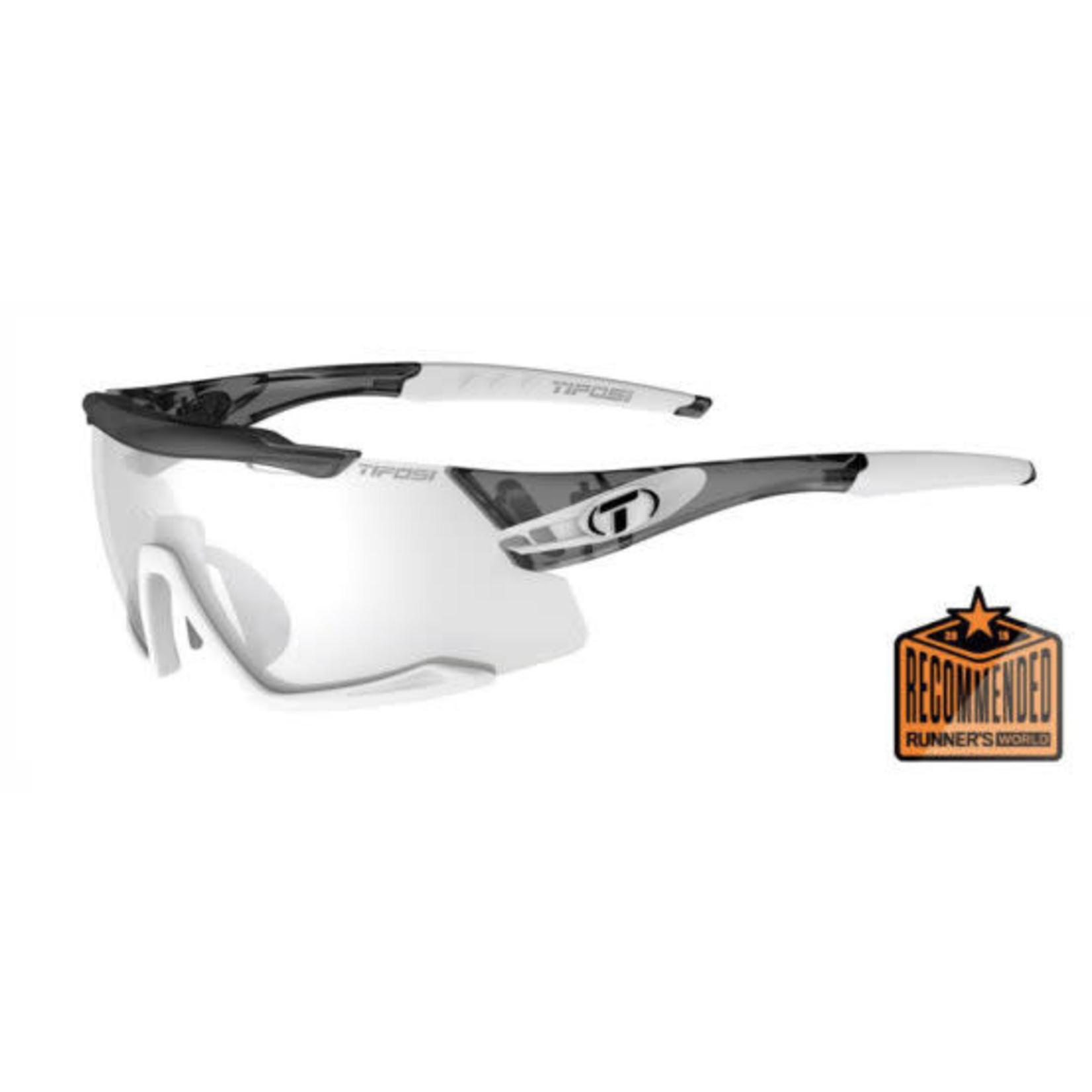 Tifosi Optics Aethon, Crystal Smoke/White  Fototec Sunglasses