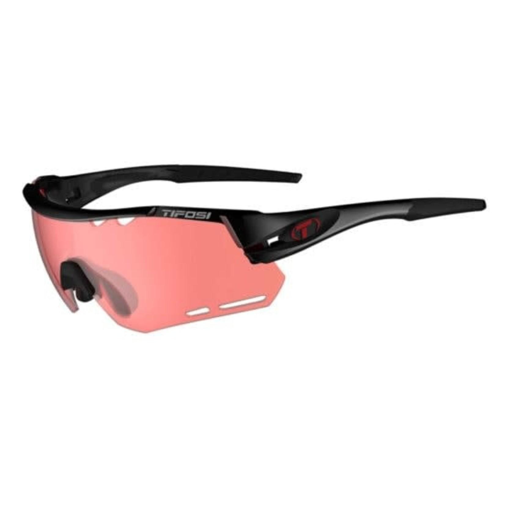 Tifosi Optics Alliant, Crystal Black Single Lens Sunglasses