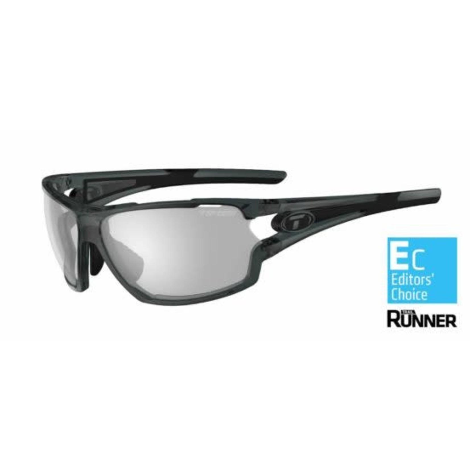 Tifosi Optics Amok, Crystal Smoke Fototec Sunglasses