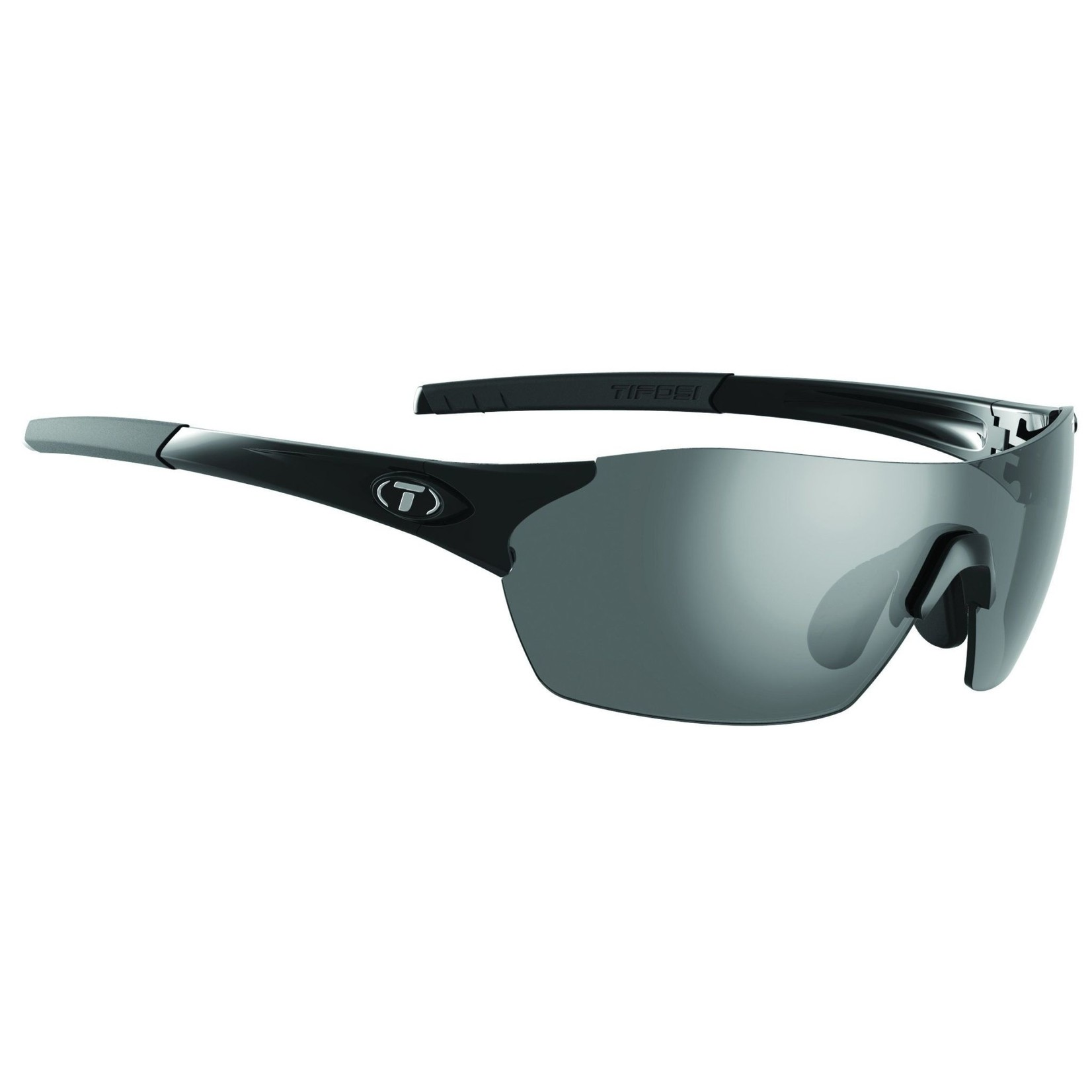 Tifosi Optics Brixen, Gloss Black Interchangeable Sunglasses