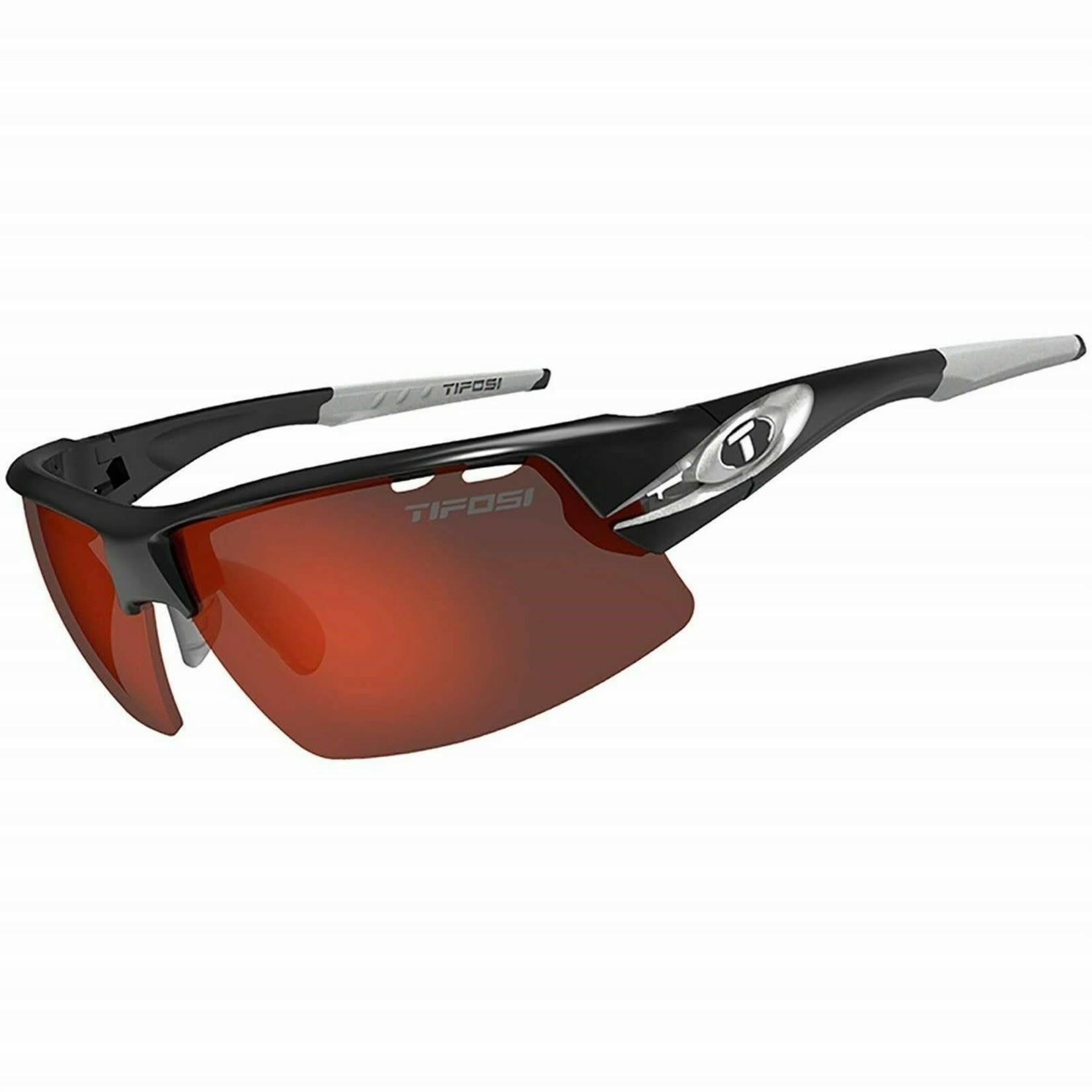 Tifosi Optics Crit, Race Silver Interchangeable Sunglasses