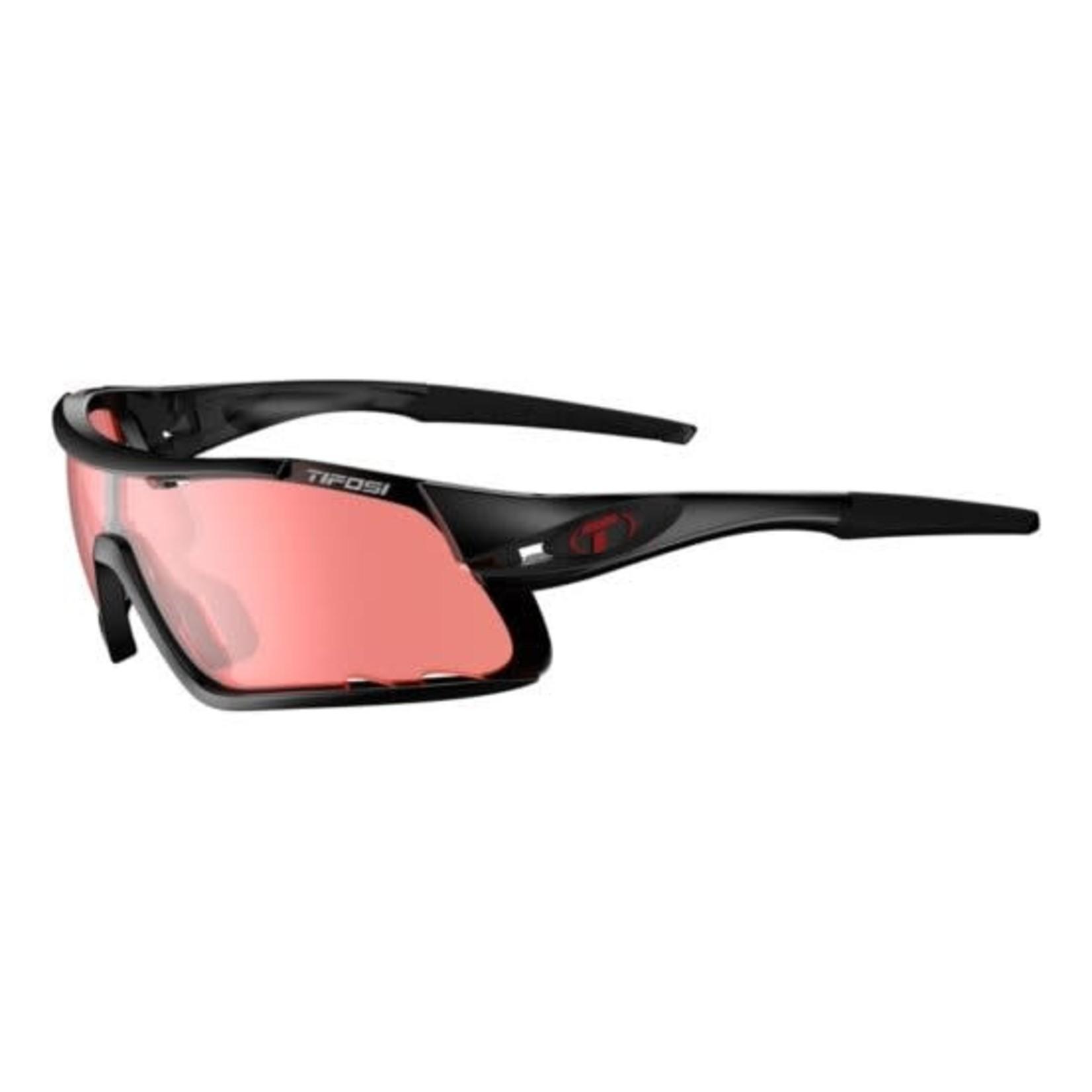 Tifosi Optics Davos, Crystal Black Single Lens Sunglasses