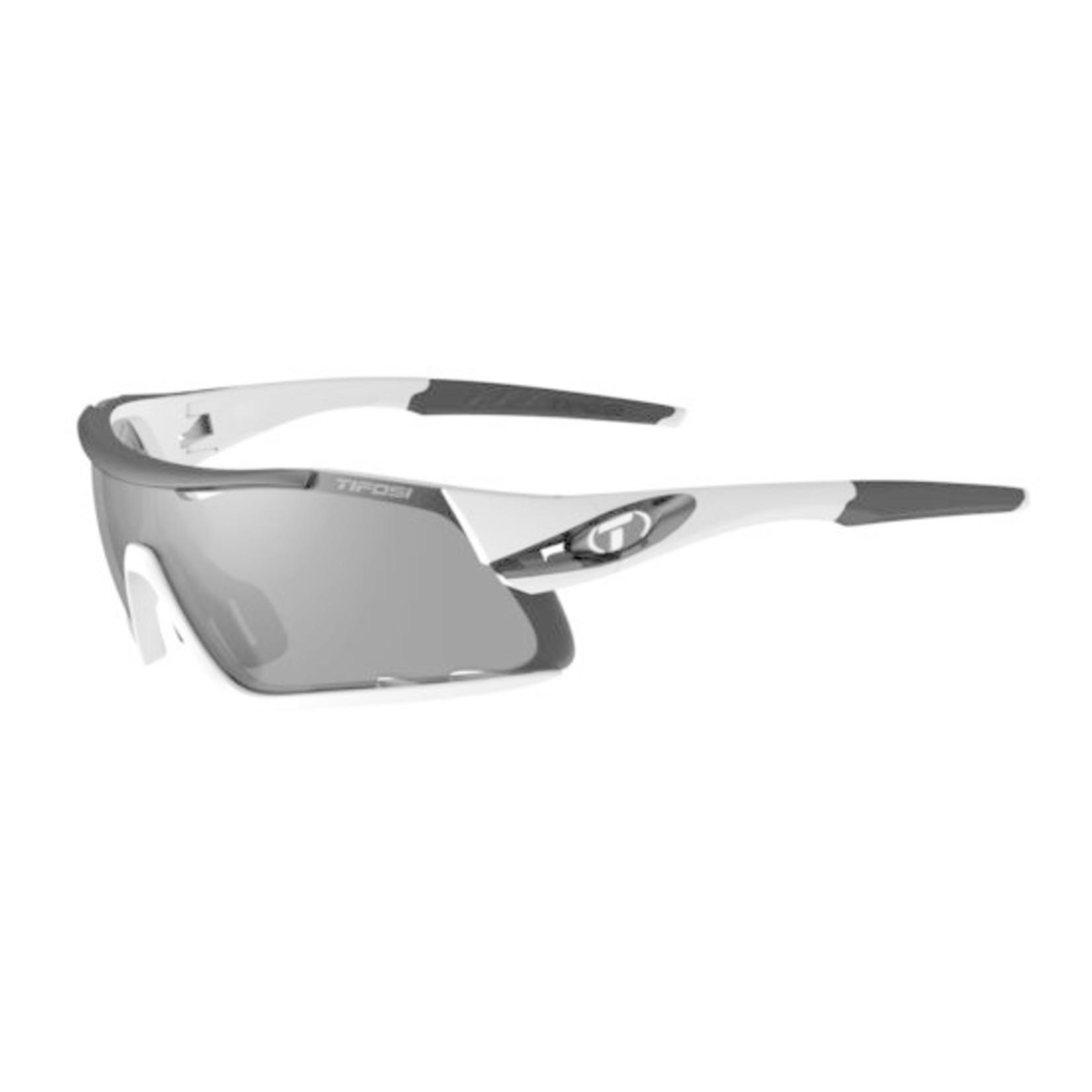 Tifosi Optics Davos, White/Black Interchangeable Sunglasses