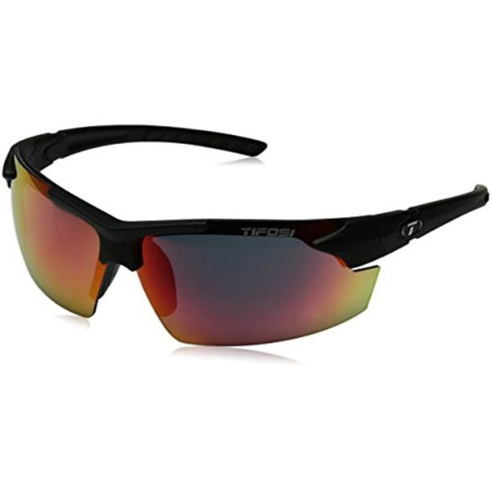 Tifosi Optics Jet FC, Matte Black Single Lens Sunglasses