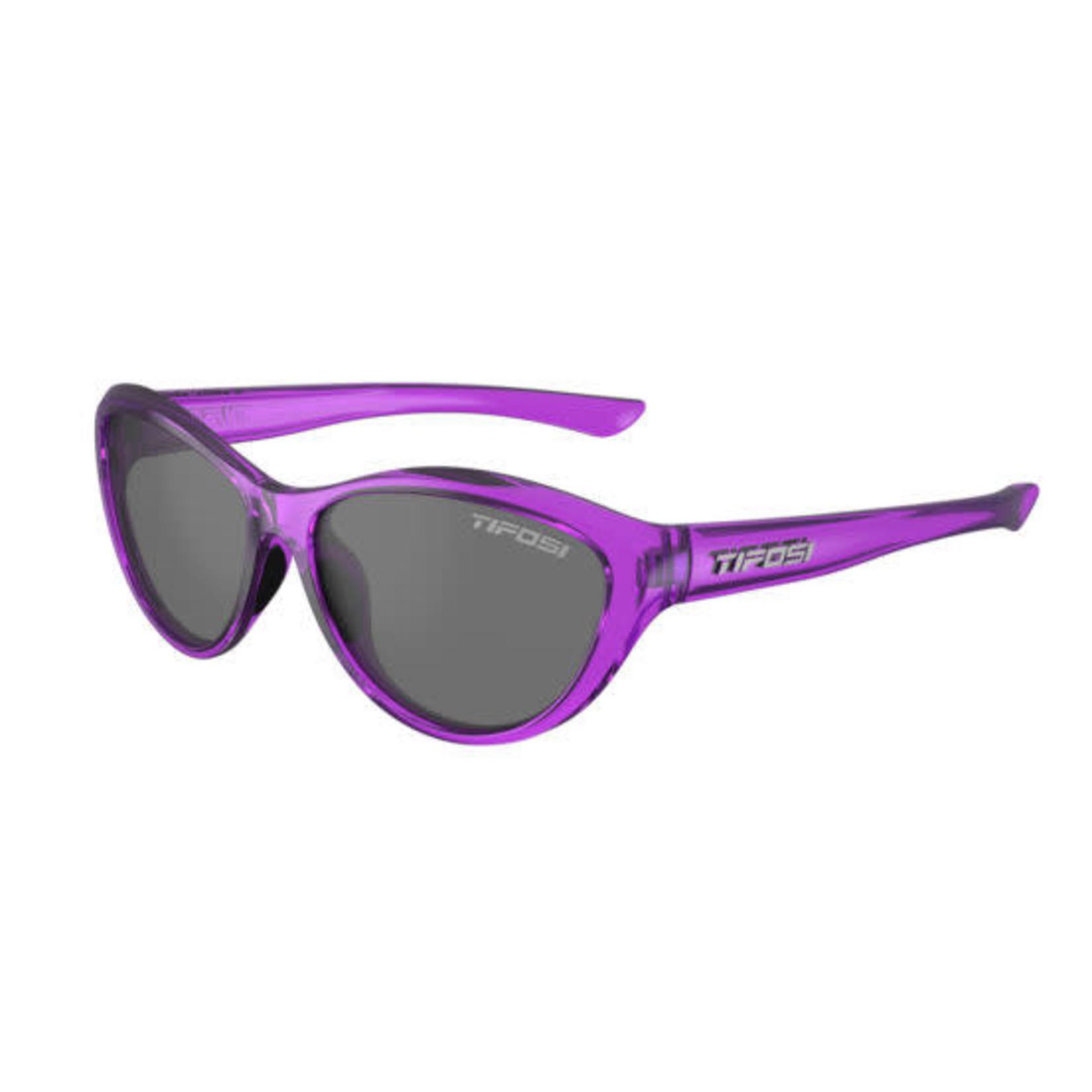 Tifosi Optics Shirley, Crystal Ultraviolet Single Lens Sunglasses