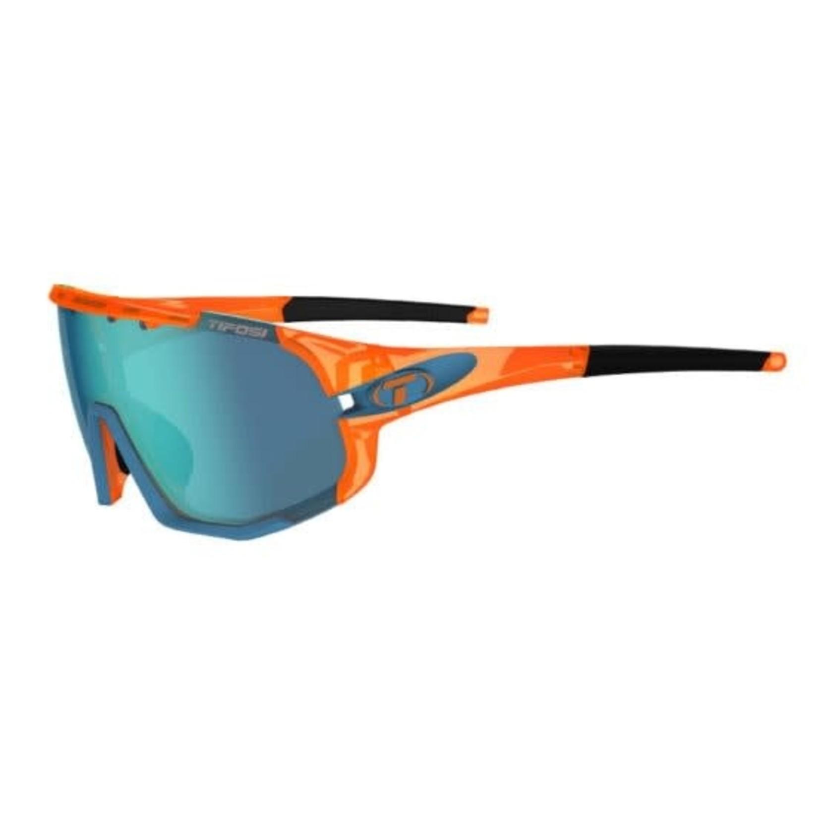 Tifosi Optics Sledge, Crystal Orange Interchangeable Sunglasses
