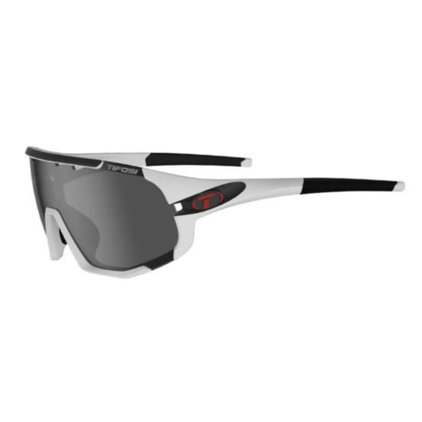 Tifosi Optics Sledge, Matte White Interchangeable Sunglasses