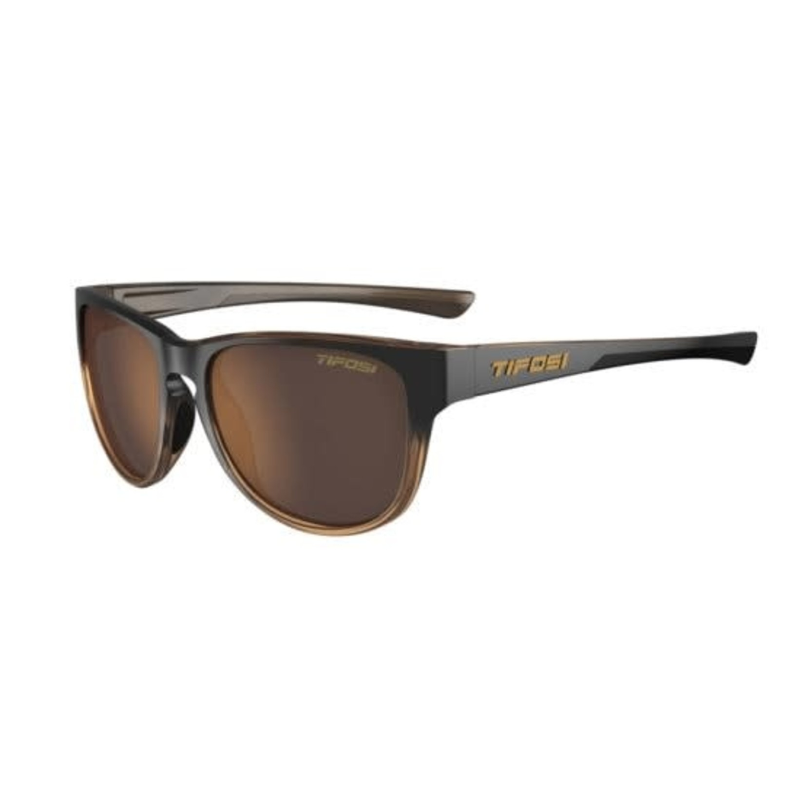 Tifosi Optics Smoove, Mocha Fade Single Lens Sunglasses