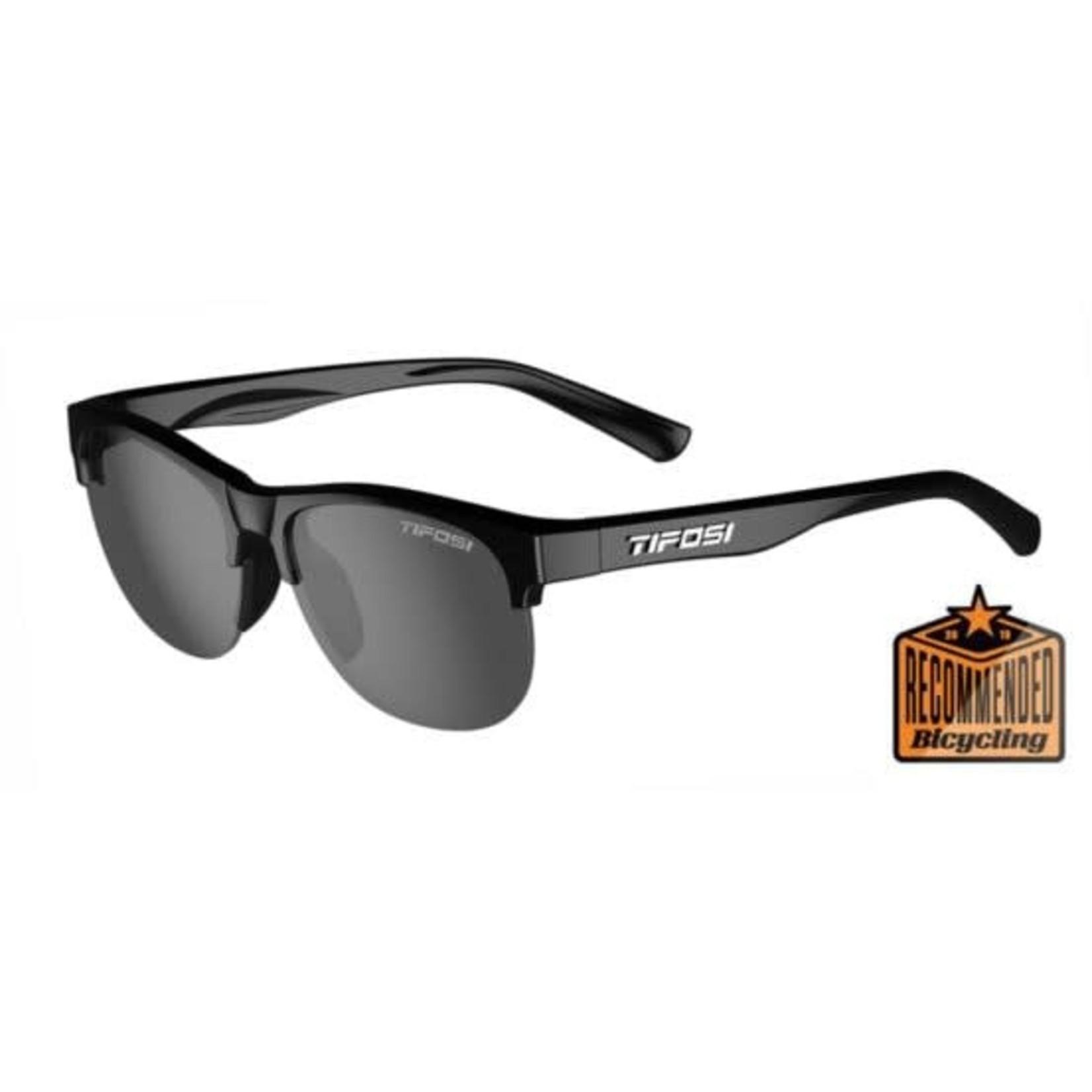 Tifosi Optics Swank SL, Gloss Black Single Lens Sunglasses