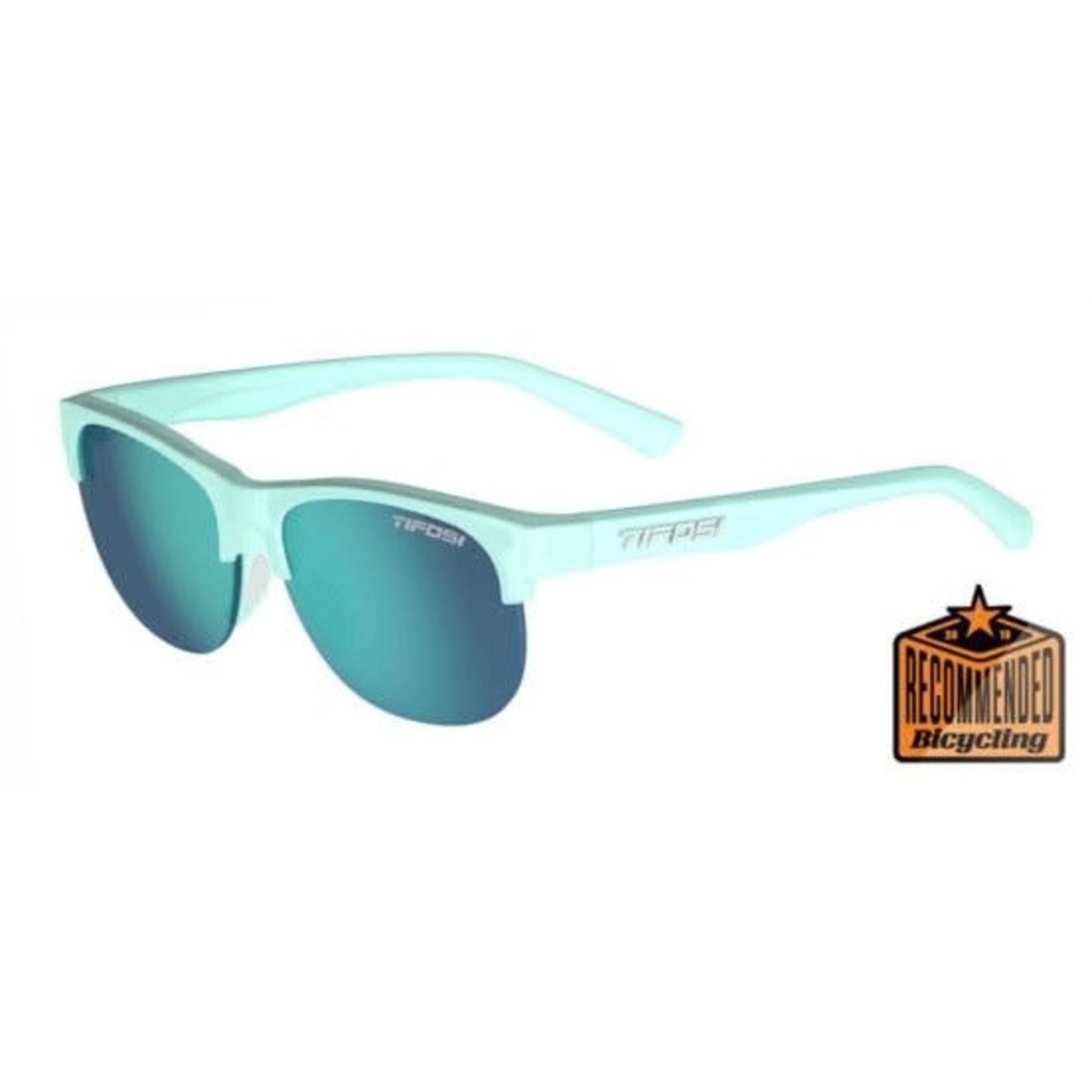 Tifosi Optics Swank SL, Satin Crystal Teal Single Lens Sunglasses