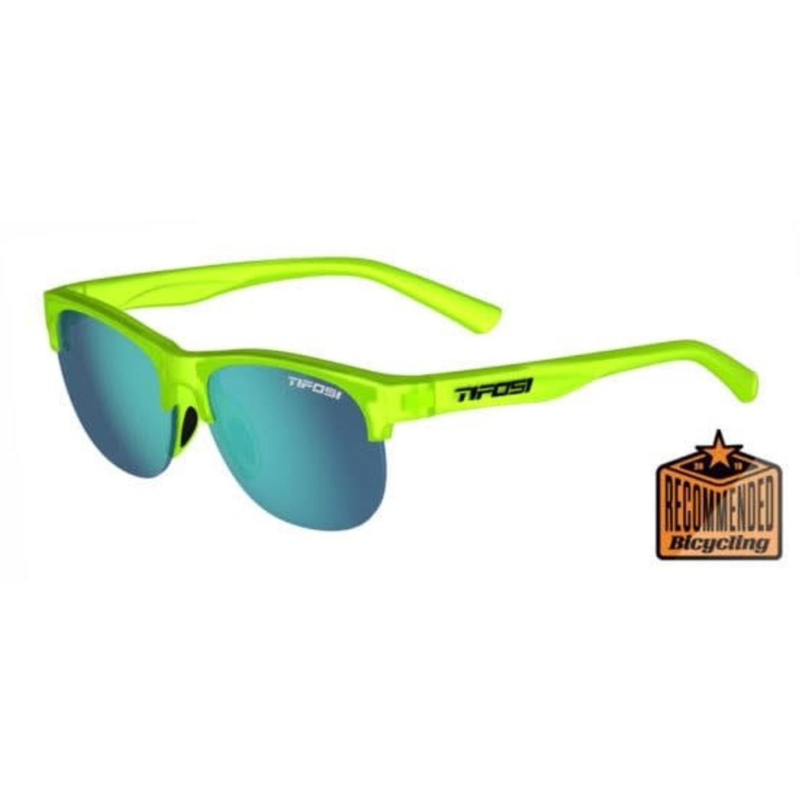 Tifosi Optics Swank SL, Satin Electric Green Single Lens Sunglasses