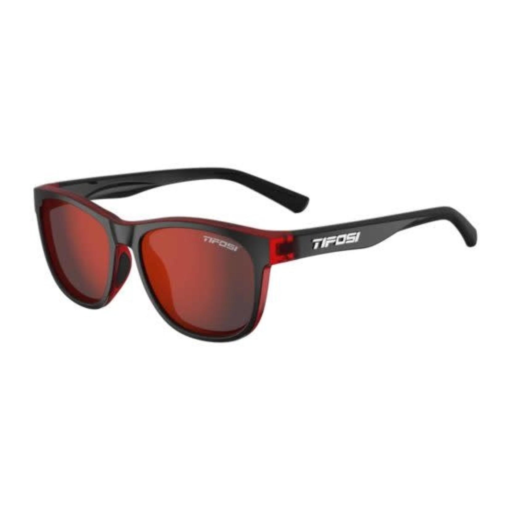 Tifosi Optics Swank, Crimson/Onyx Single Lens Sunglasses