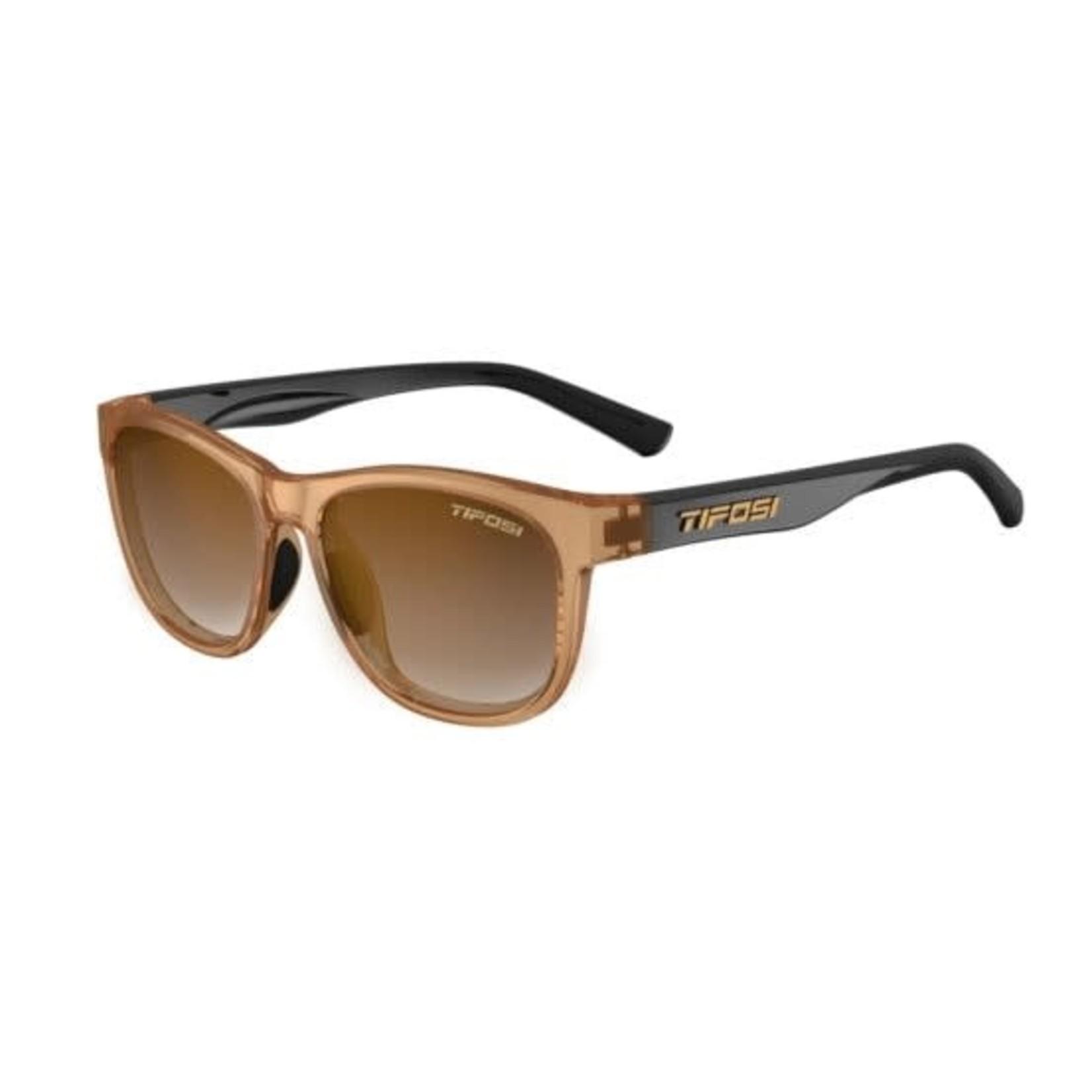 Tifosi Optics Swank, Crystal Brown/Onyx Single Lens Sunglasses