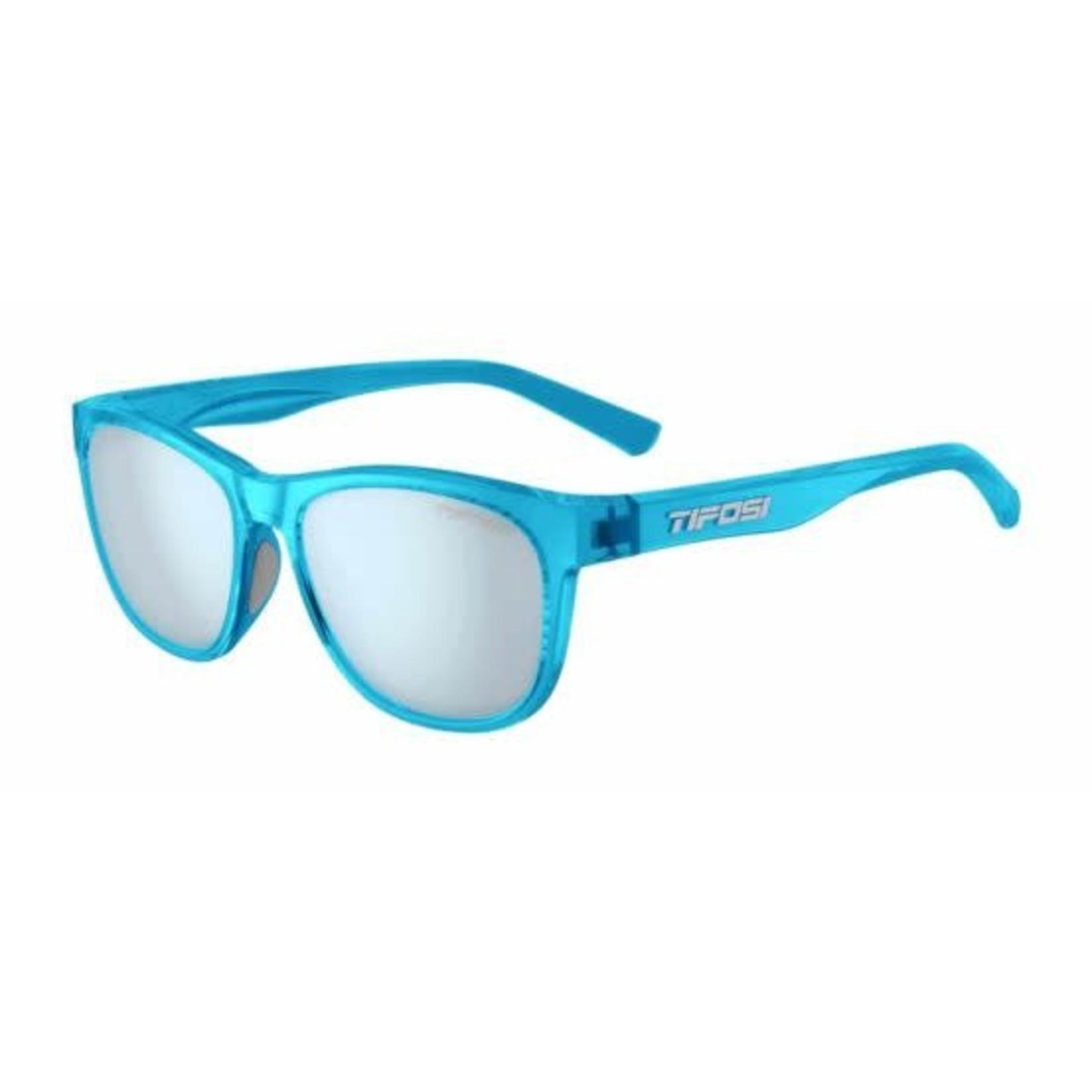 Tifosi Optics Swank, Crystal Sky Blue Single Lens Sunglasses